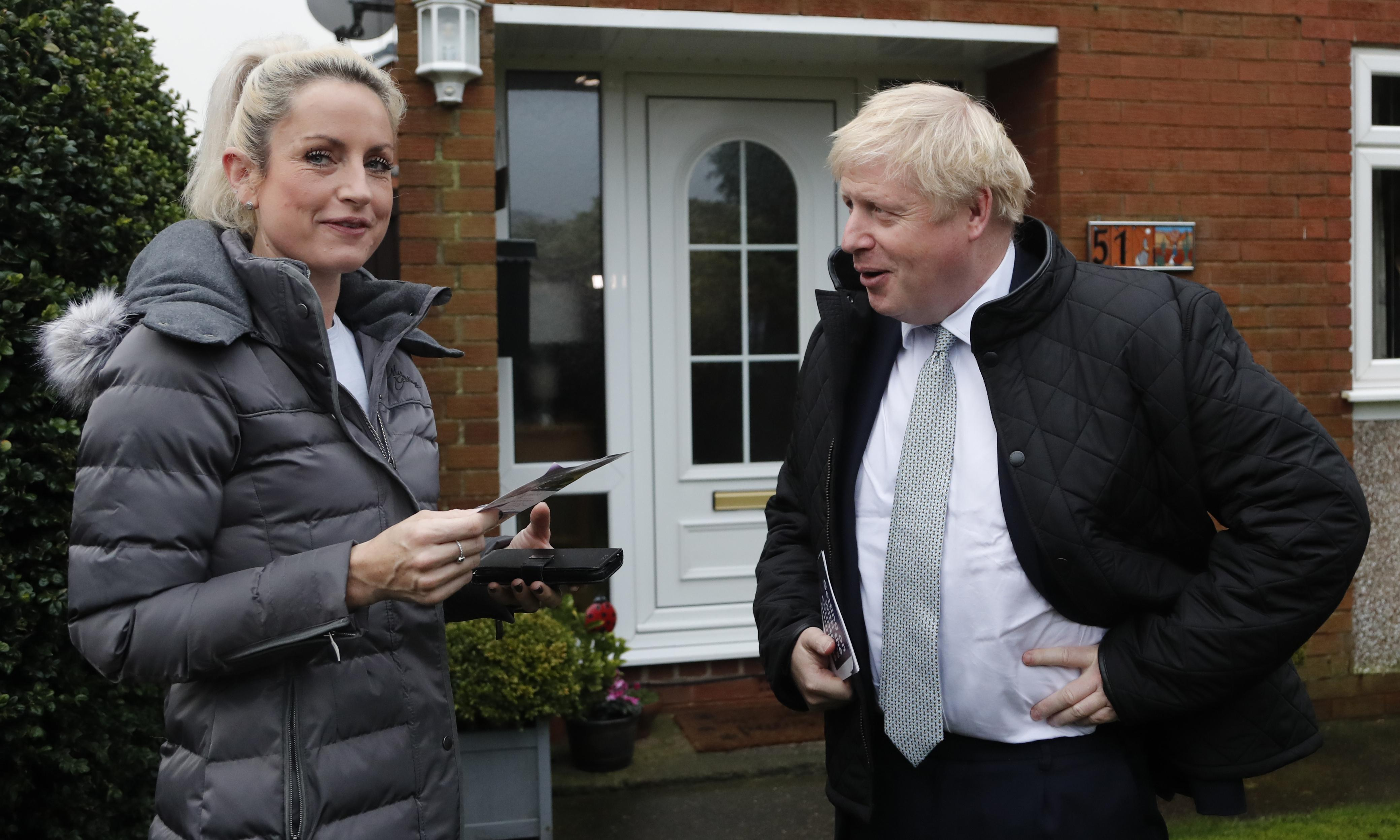 The view from Uxbridge: young voters battle to oust Johnson from his own seat