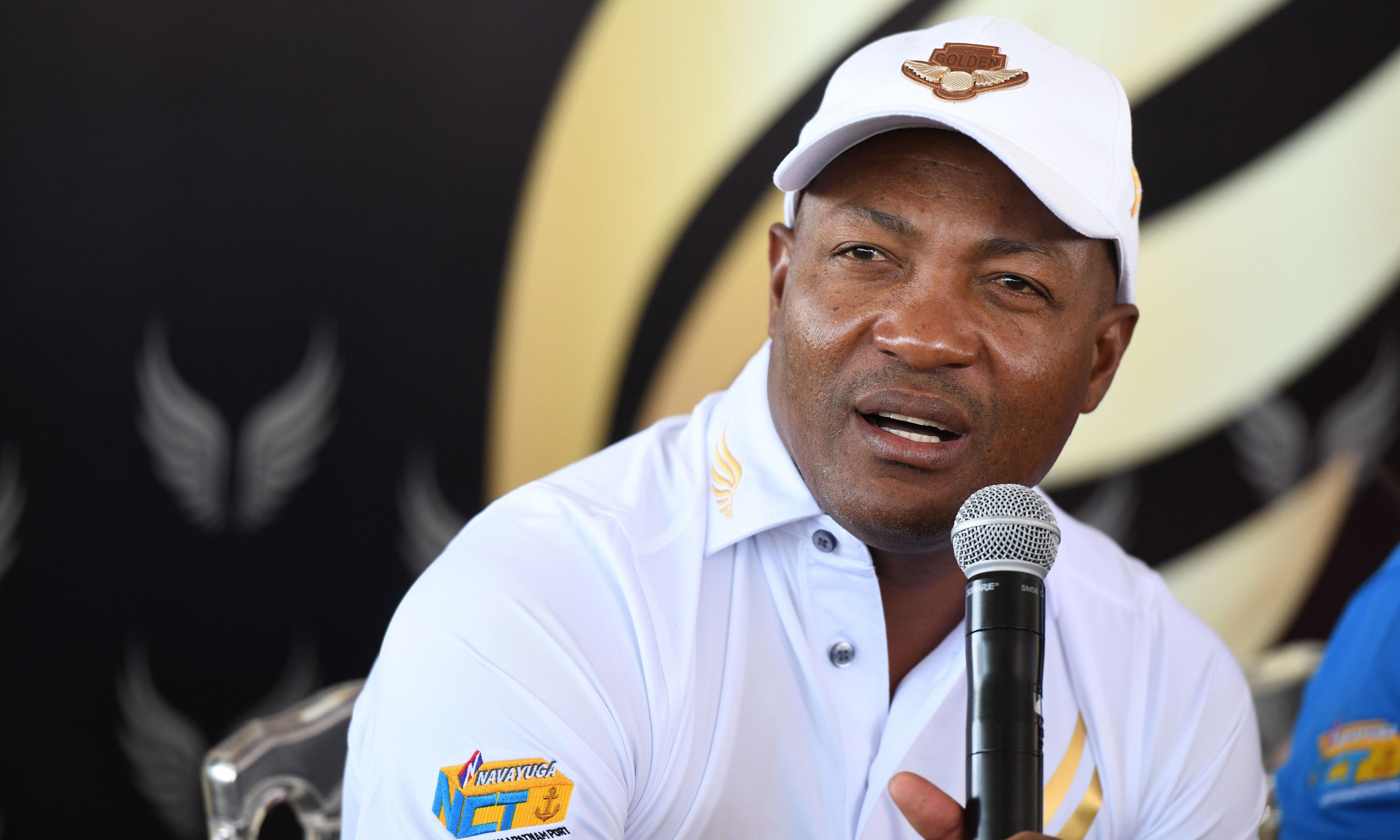 Brian Lara in hospital after chest pains but says he is fine