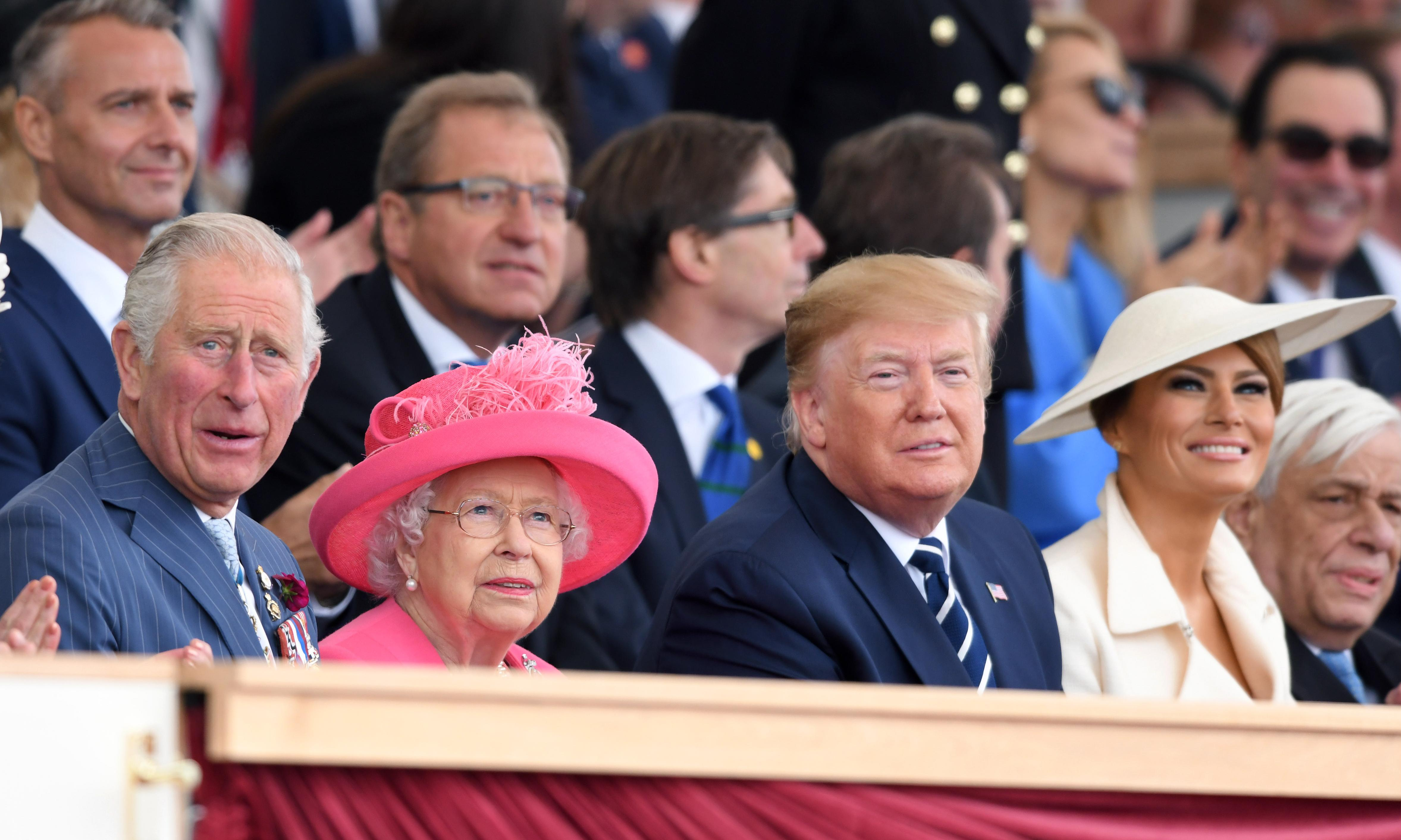 Donald Trump, the one person more of a political basket case than Britain