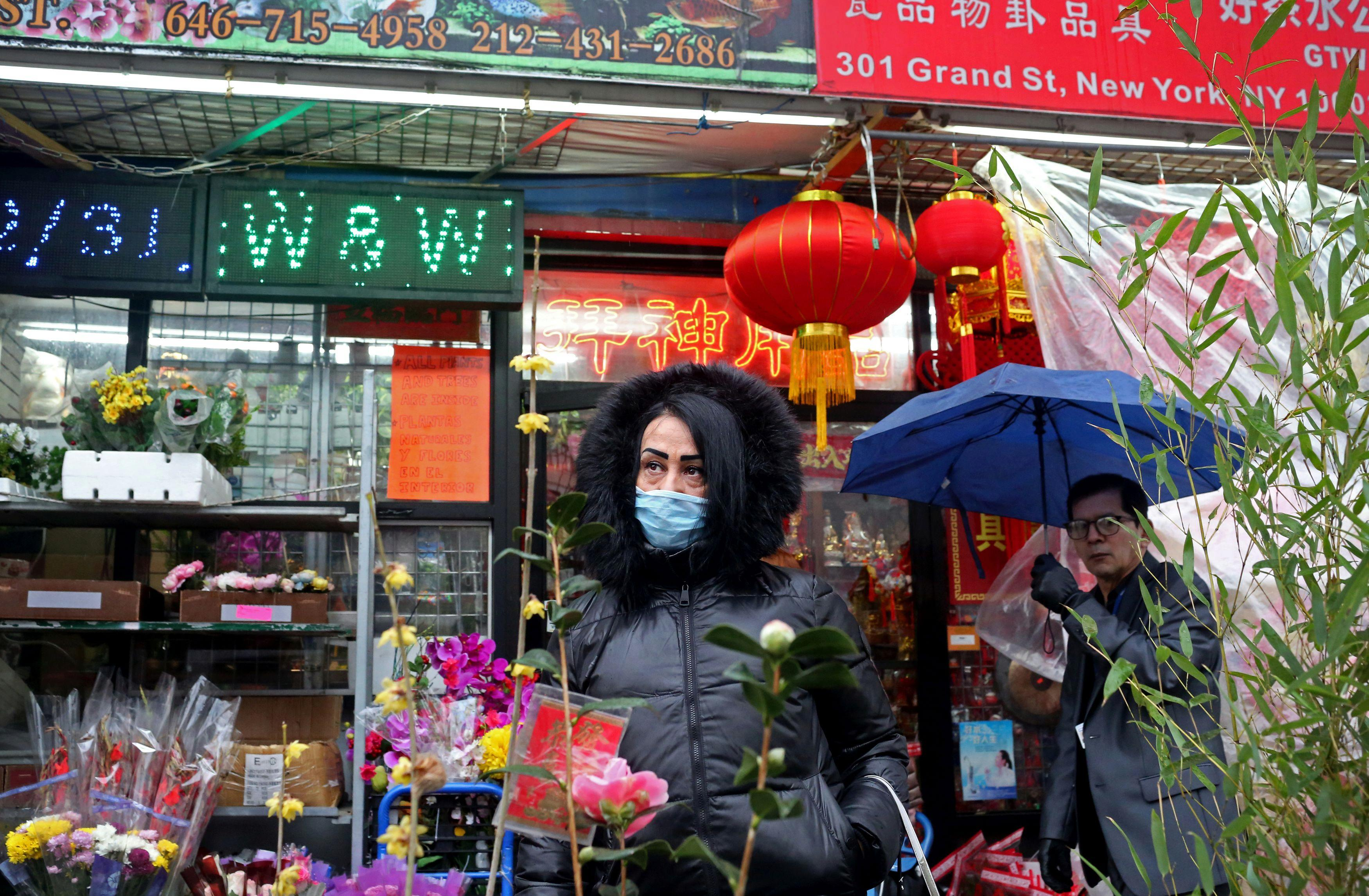 'People are scared': New York City's Chinatown takes hit over coronavirus fears
