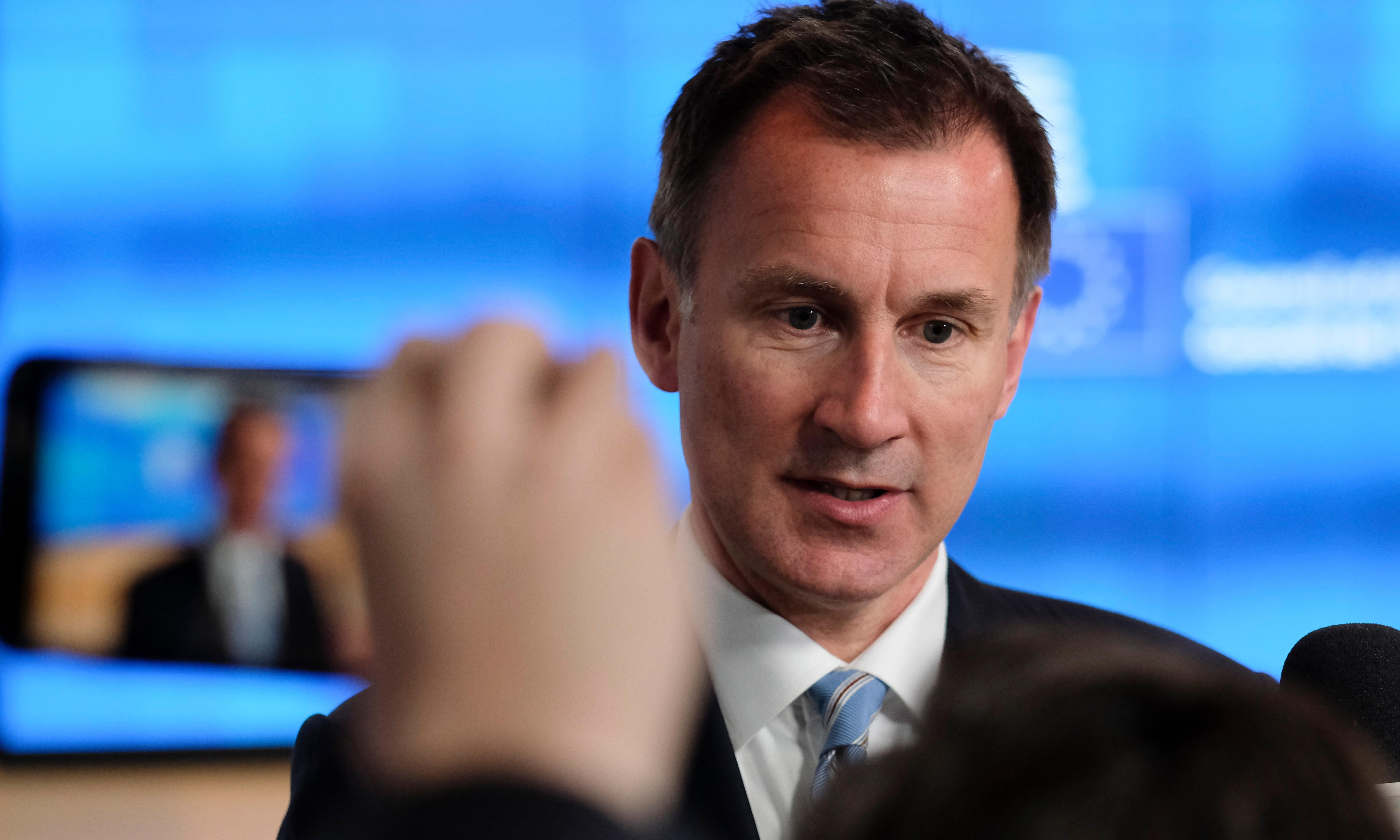 Brexit: Labour rift proves it cannot be relied on, Hunt tells EU