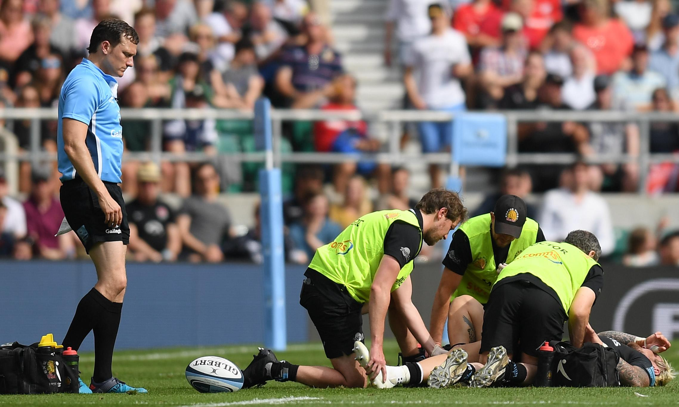 England's Jack Nowell in fitness race for Rugby World Cup after ankle surgery