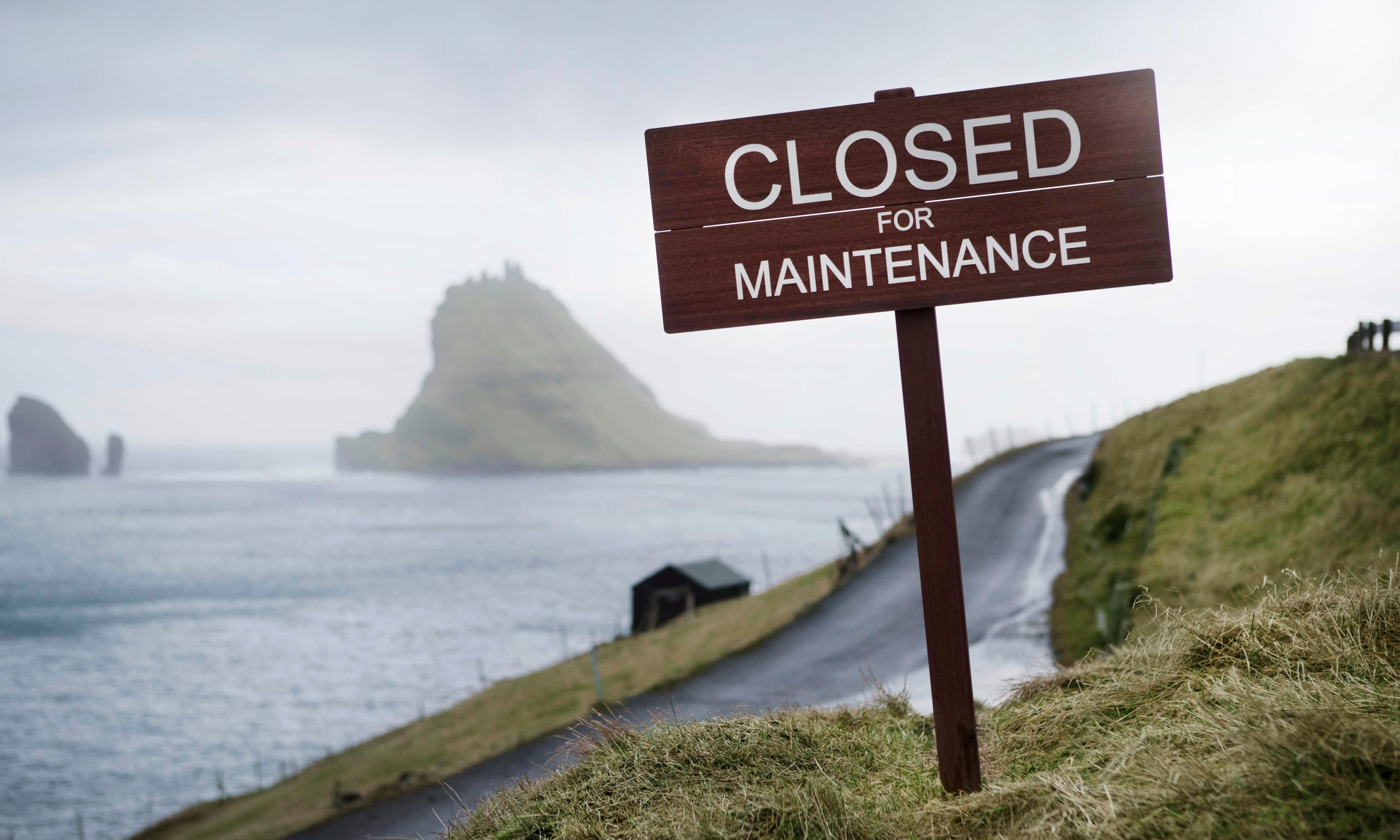 Faroe Islands: closed for repairs but open about self-promotion