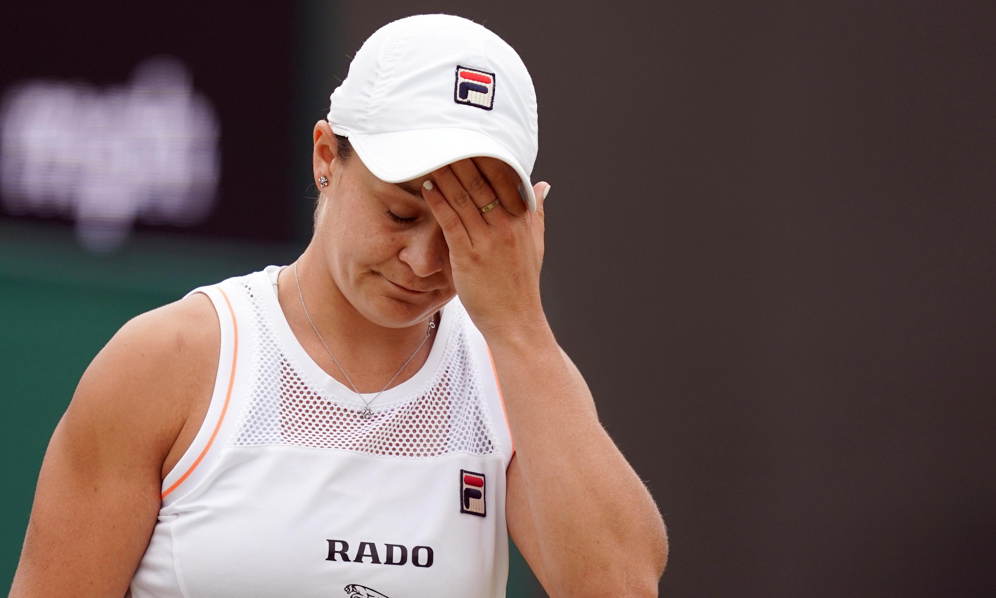 Ashleigh Barty has 'no regrets' after crashing out of Wimbledon to Riske