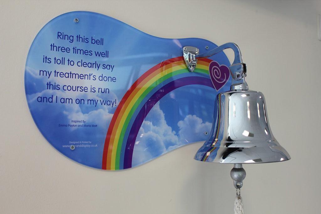 I didn't ring a bell at the end of my cancer treatment. But I get those who do