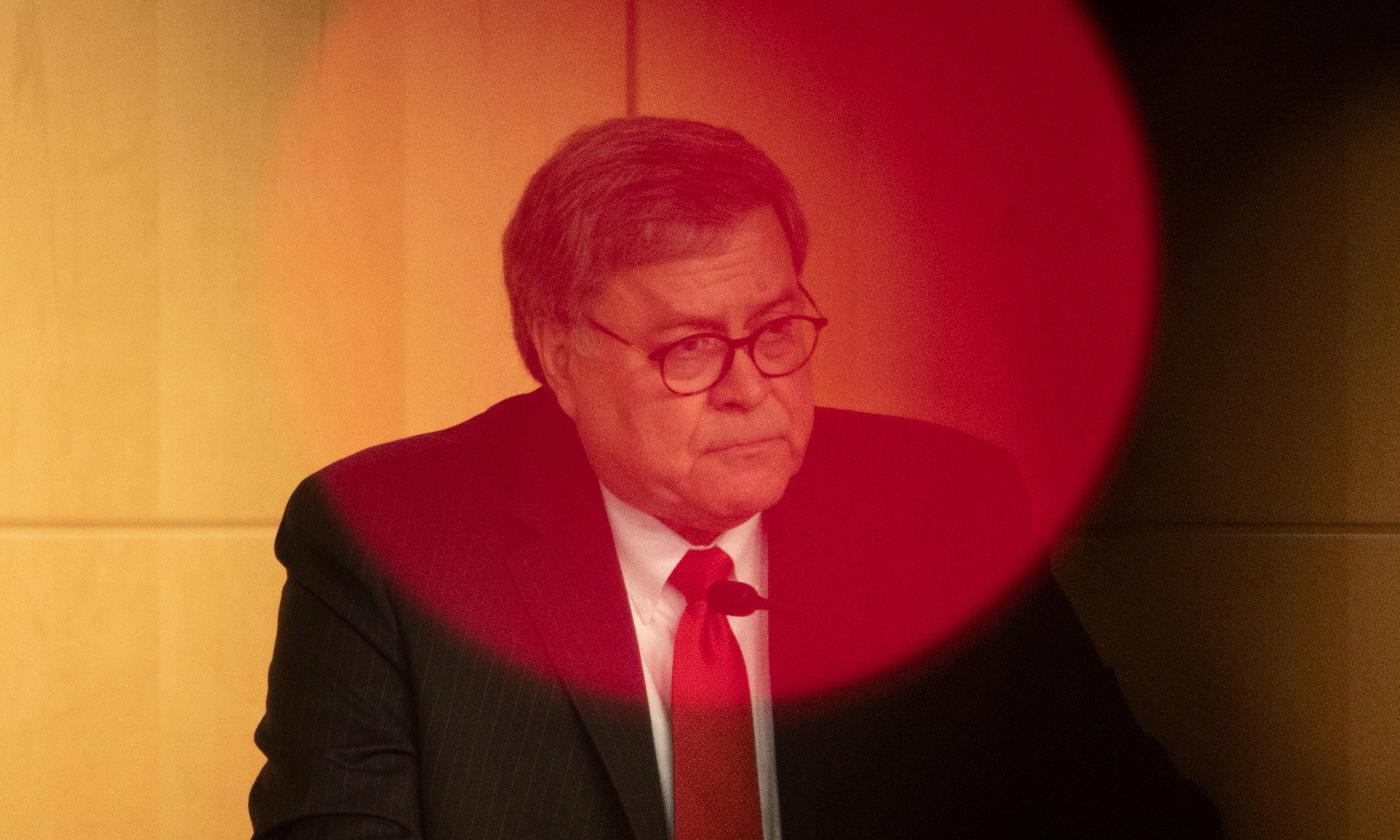 William Barr: how the attorney general became Trump's enabler-in-chief