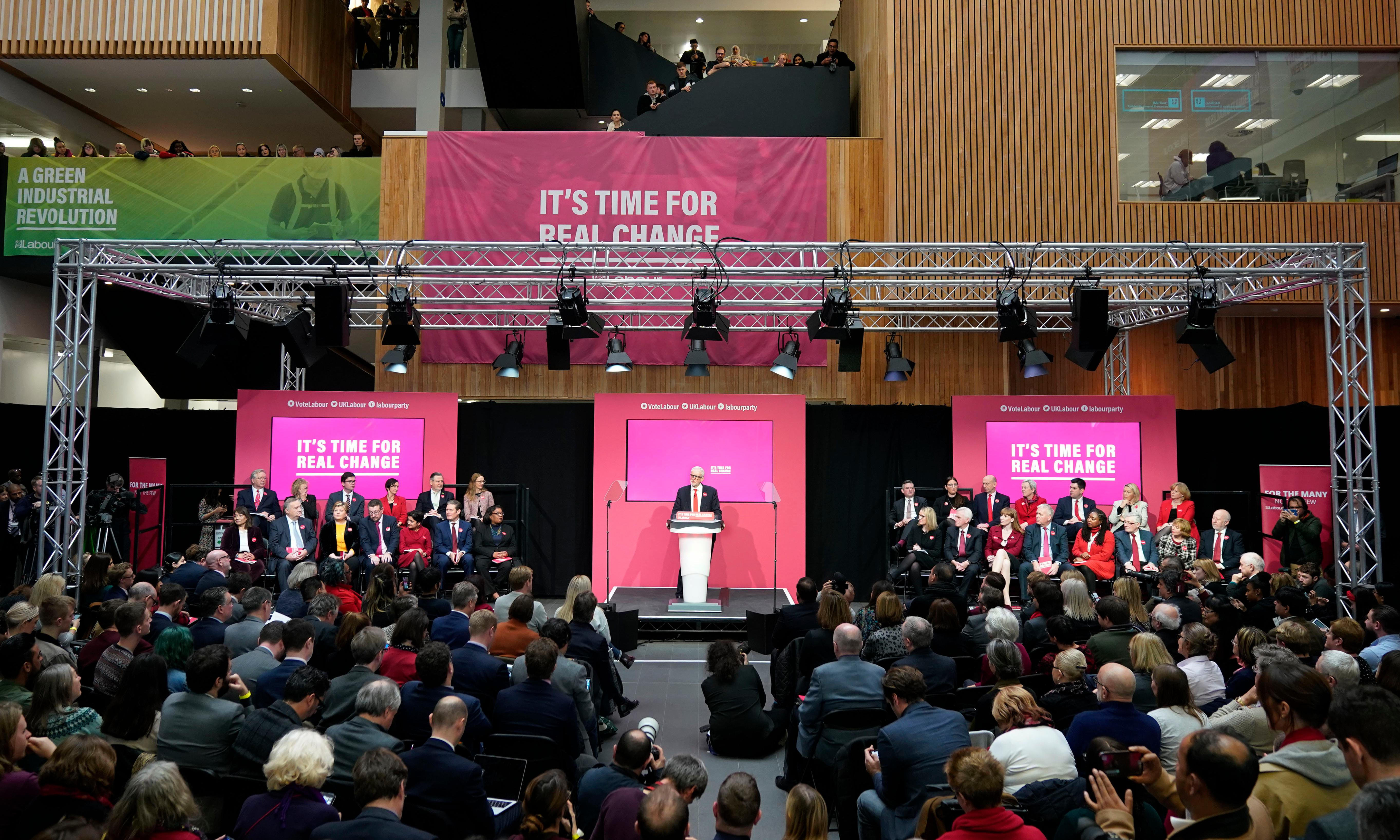 Labour activists united as they prepare to sell manifesto to voters
