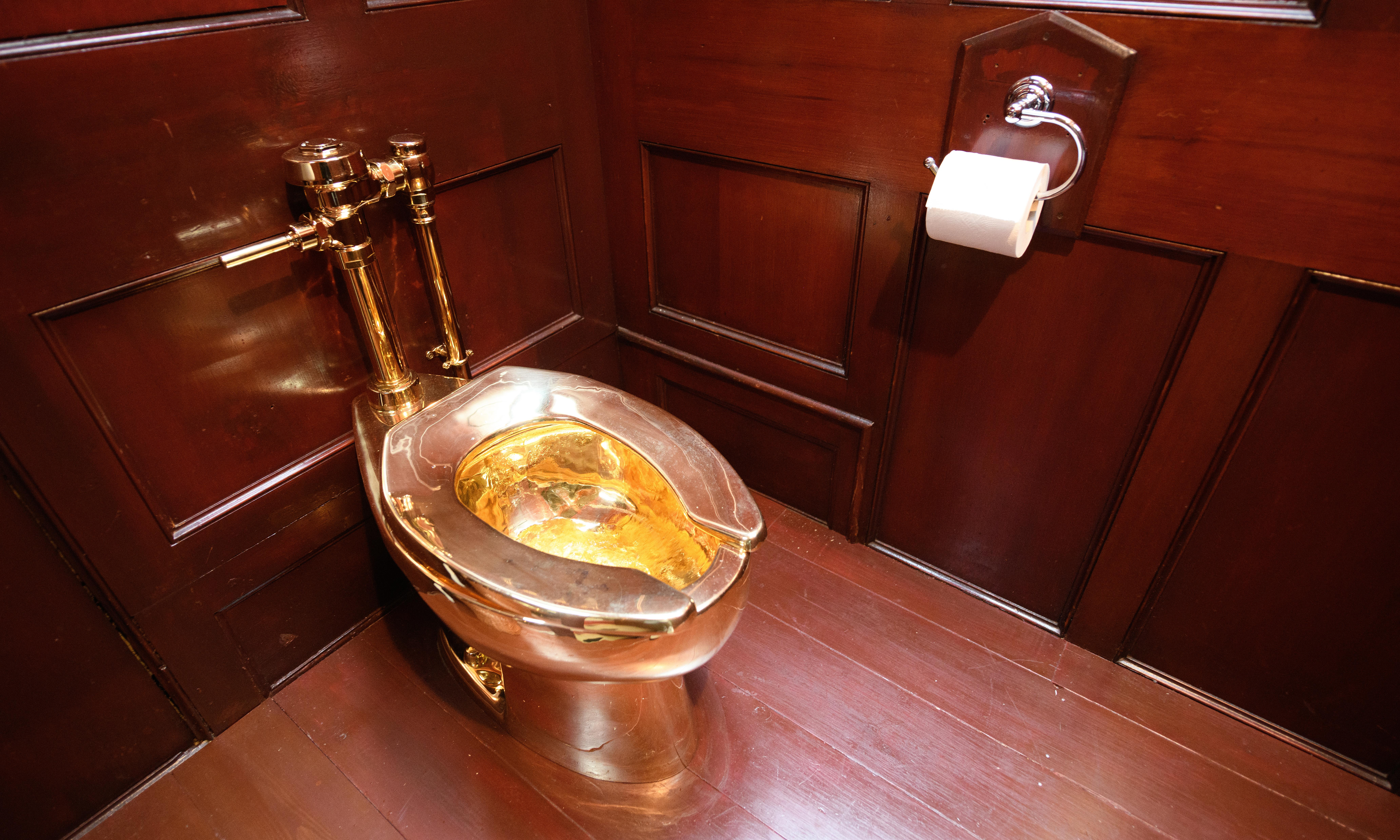 Three arrested over Blenheim Palace gold toilet theft