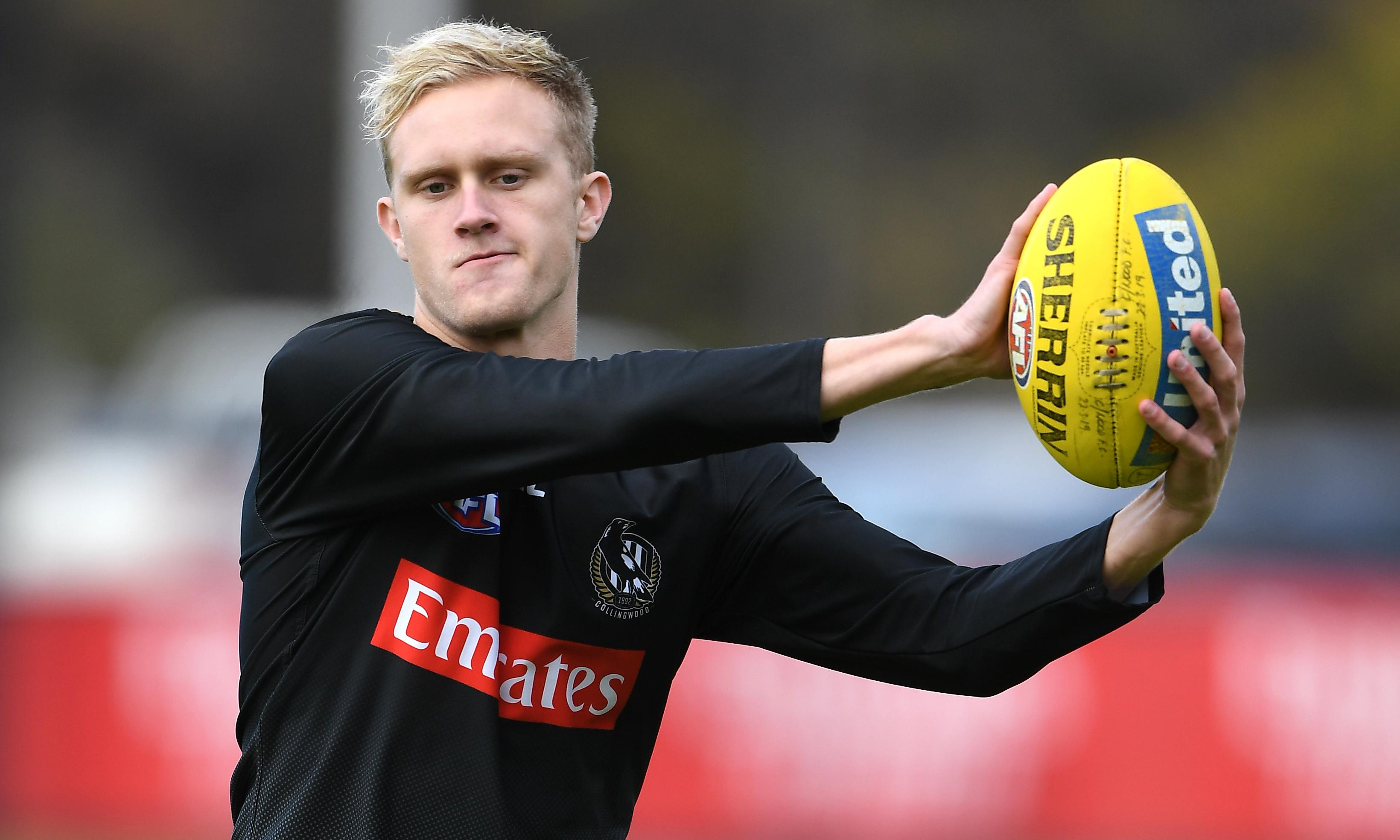 Collingwood's Jaidyn Stephenson handed 22-game ban for betting on Pies games