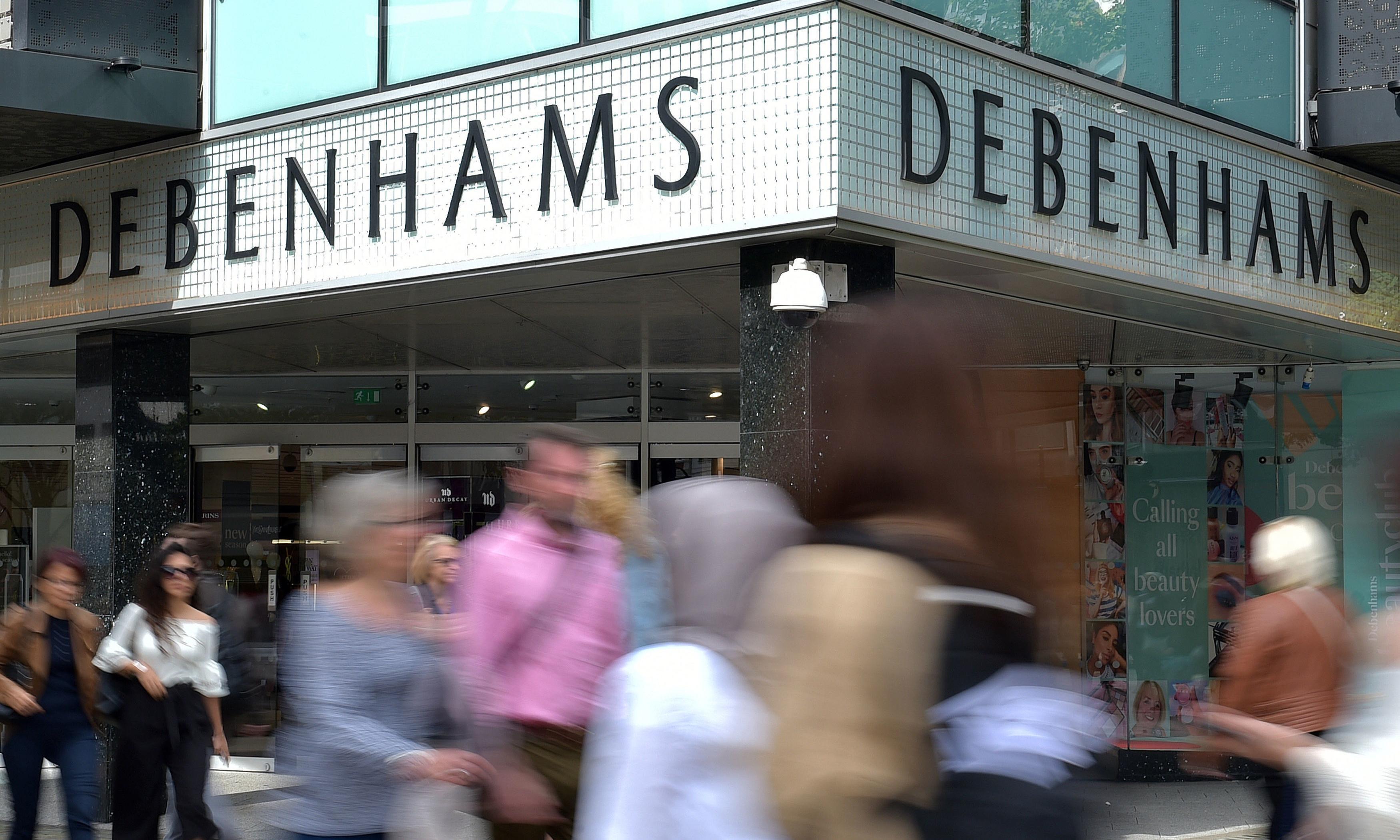 Debenhams presses ahead with £200m lenders' rescue plan