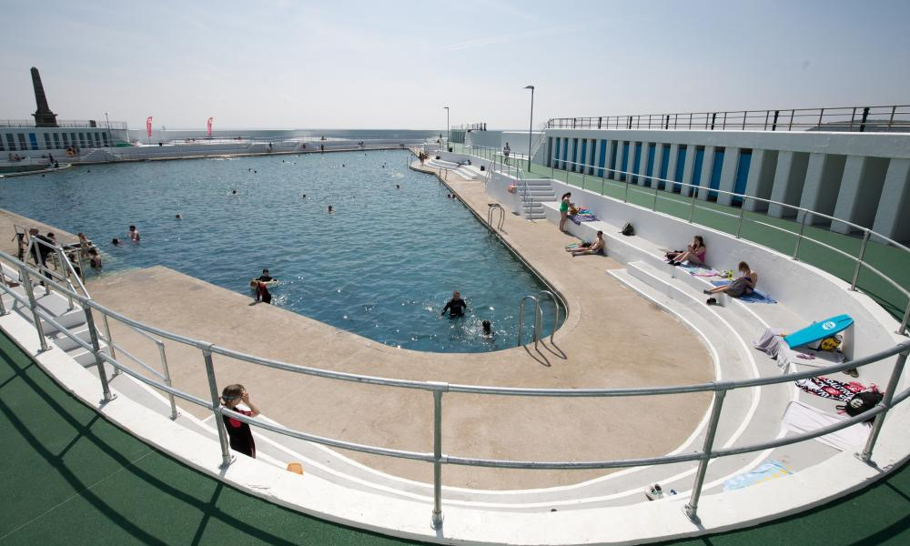Thrice as nice: the triangular Jubilee Pool lido in Penzance.