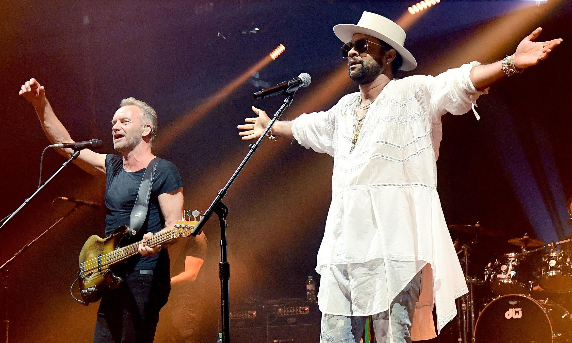 Sting & Shaggy review – pop-reggae odd couple are far from boombastic