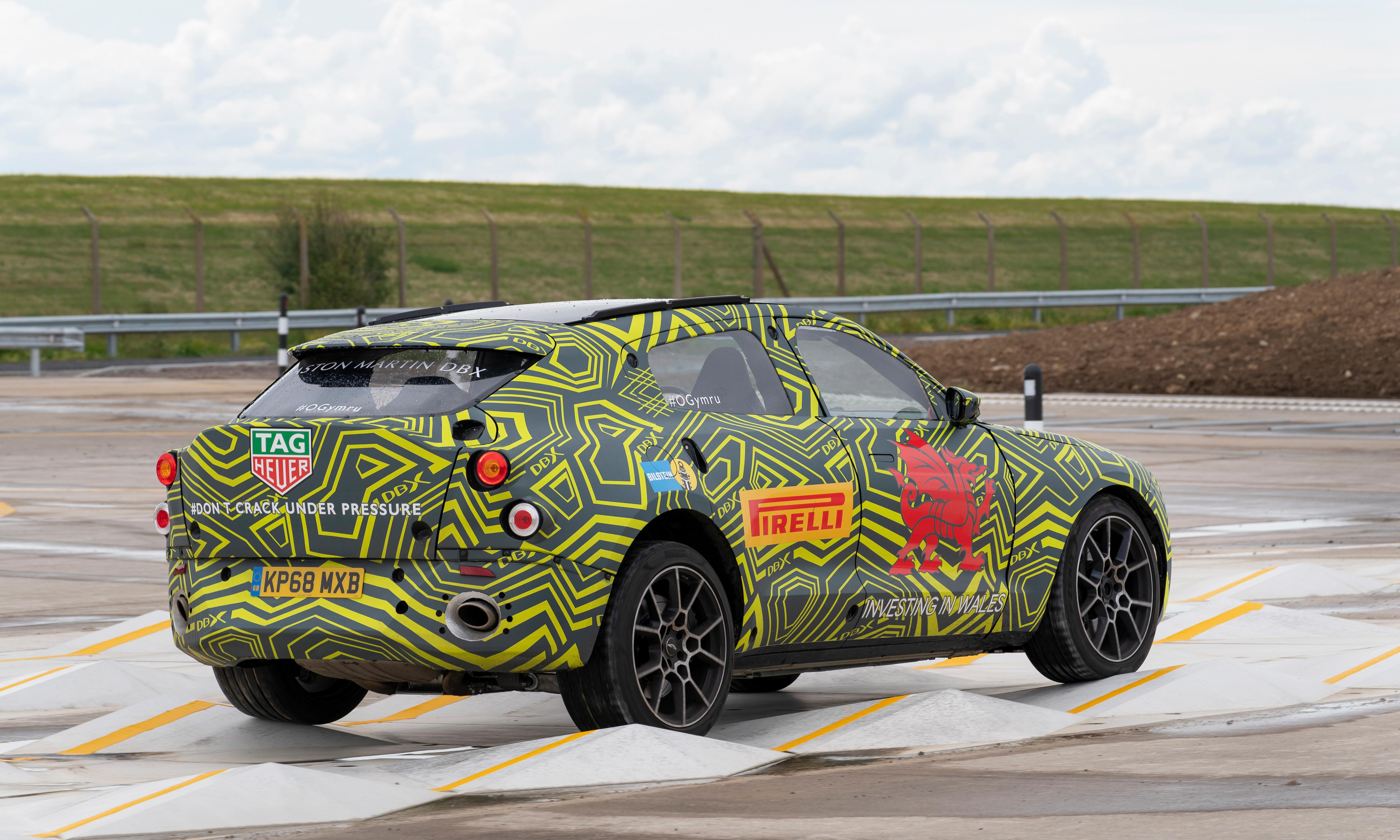 Aston Martin opens new factory in south Wales to build SUV