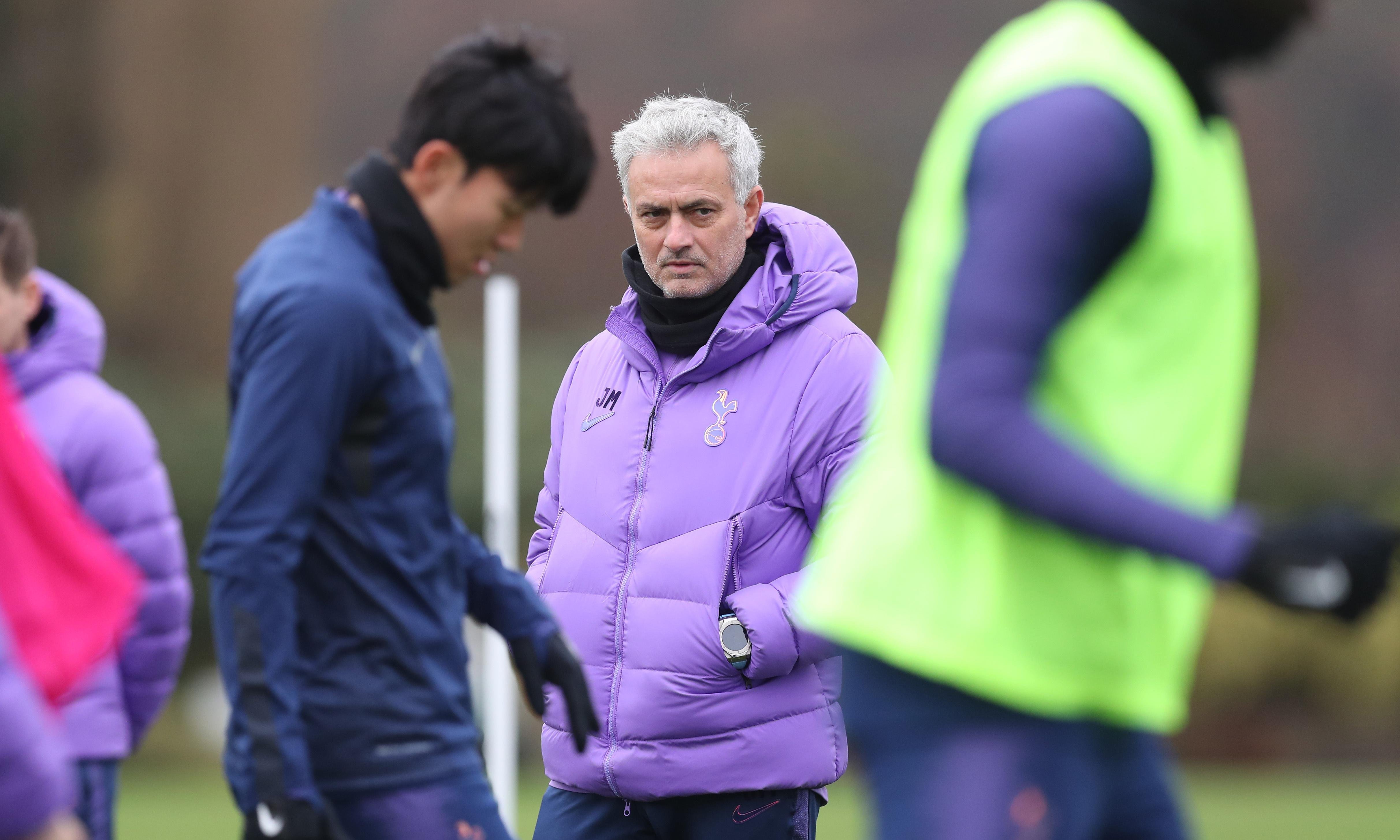 José Mourinho tells Tottenham he wants them raging not sad in defeat
