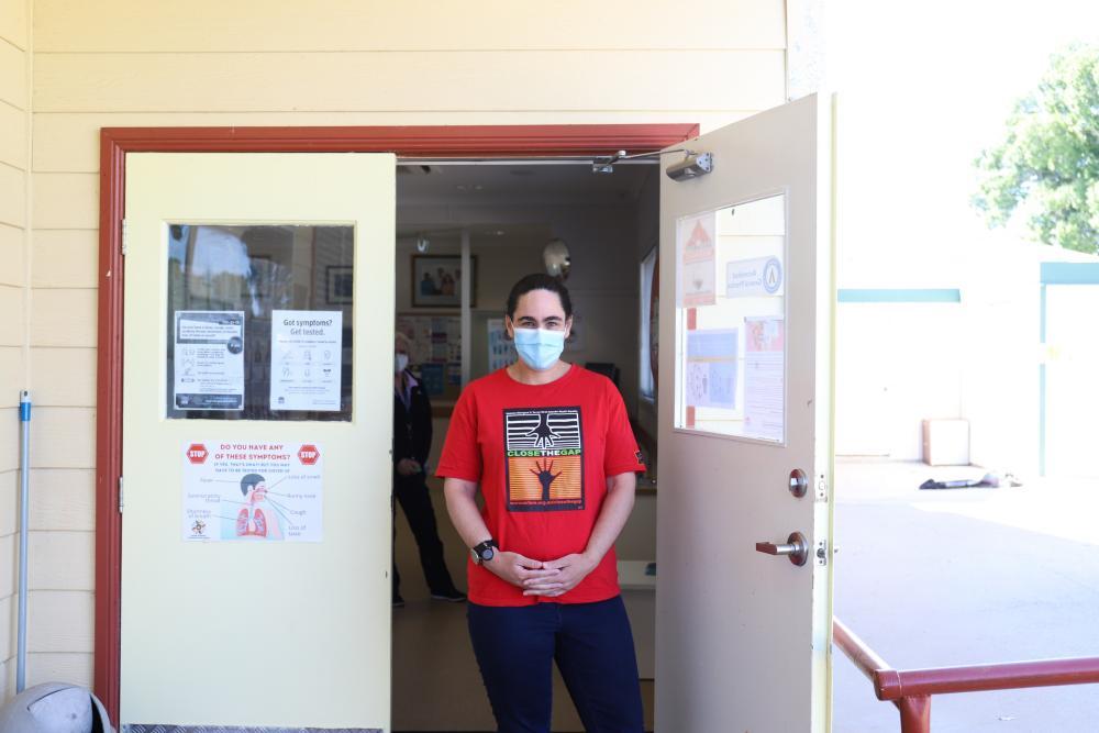 Claire Williams of the Bourke Aboriginal Health Service