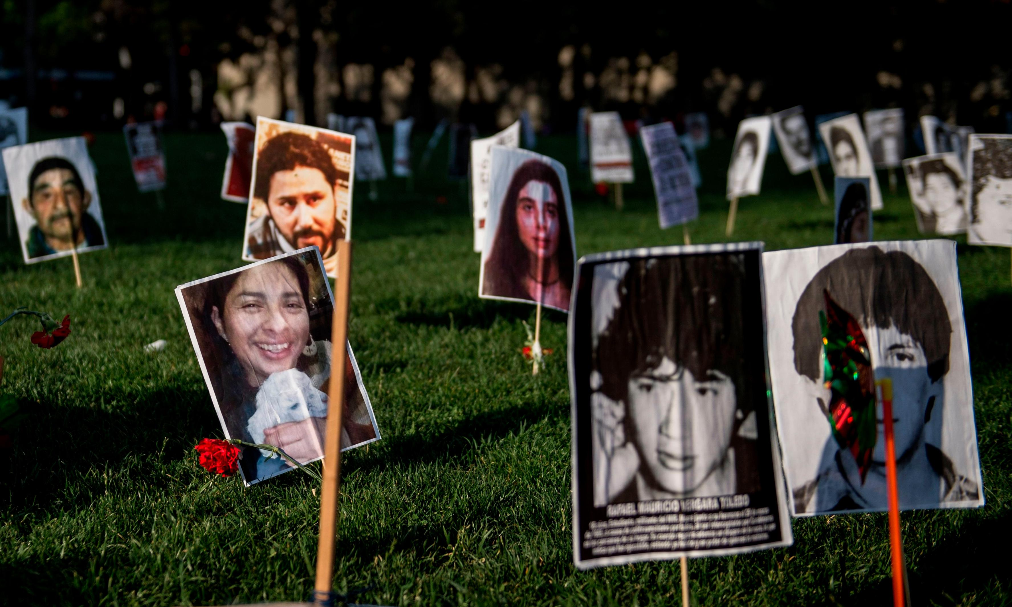 'Where are they?': families search for Chile's disappeared prisoners