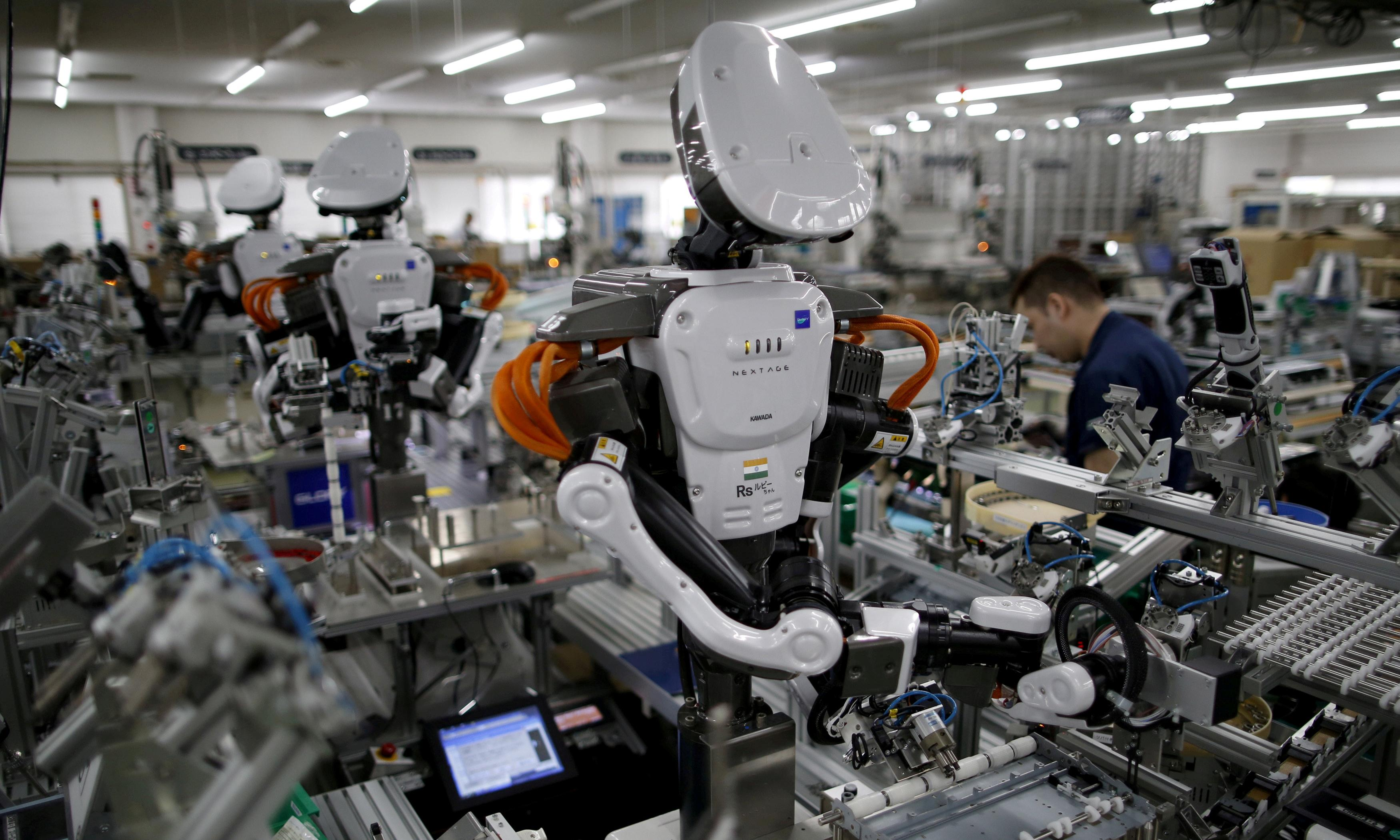 ILO urges world leaders to guarantee workers' rights as robots cut jobs