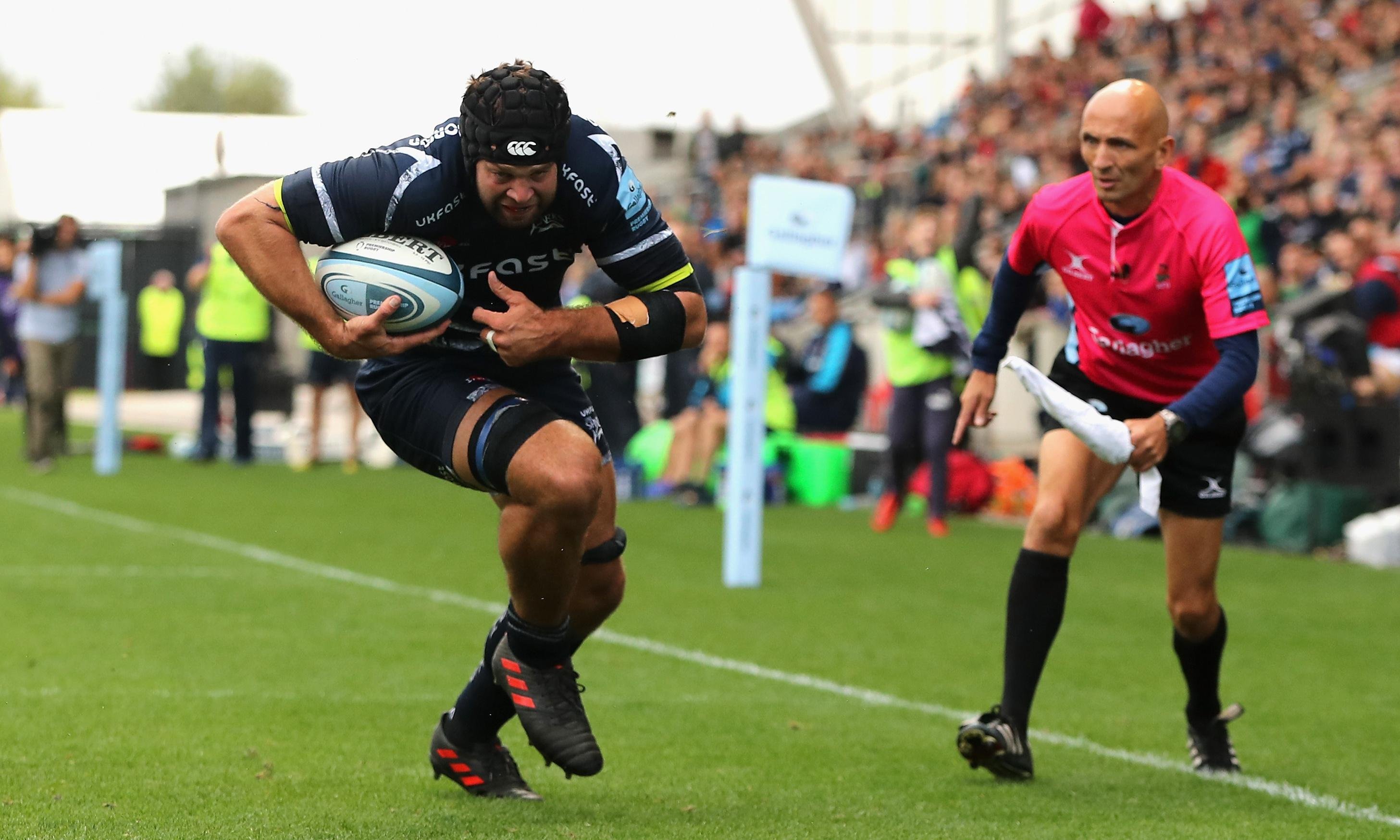 Josh Beaumont and AJ MacGinty steer Sale to nervy win over Worcester