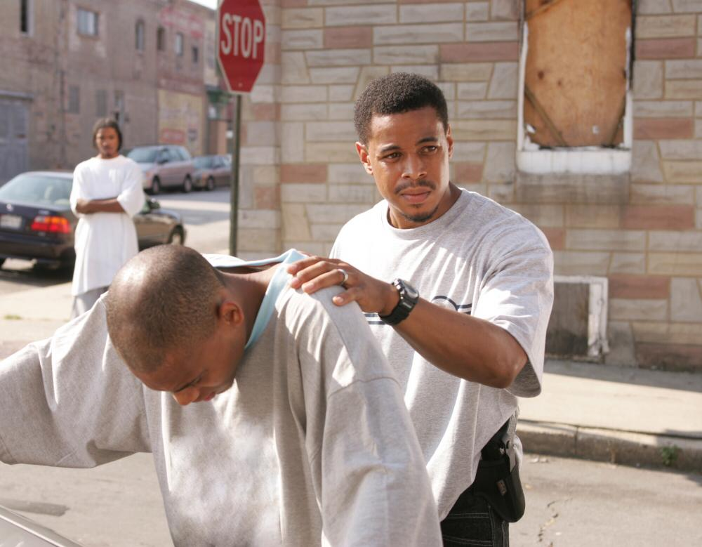 A scene from The Wire, which made great use of Baltimore's blighted neighbourhoods as backdrop for its storylines.