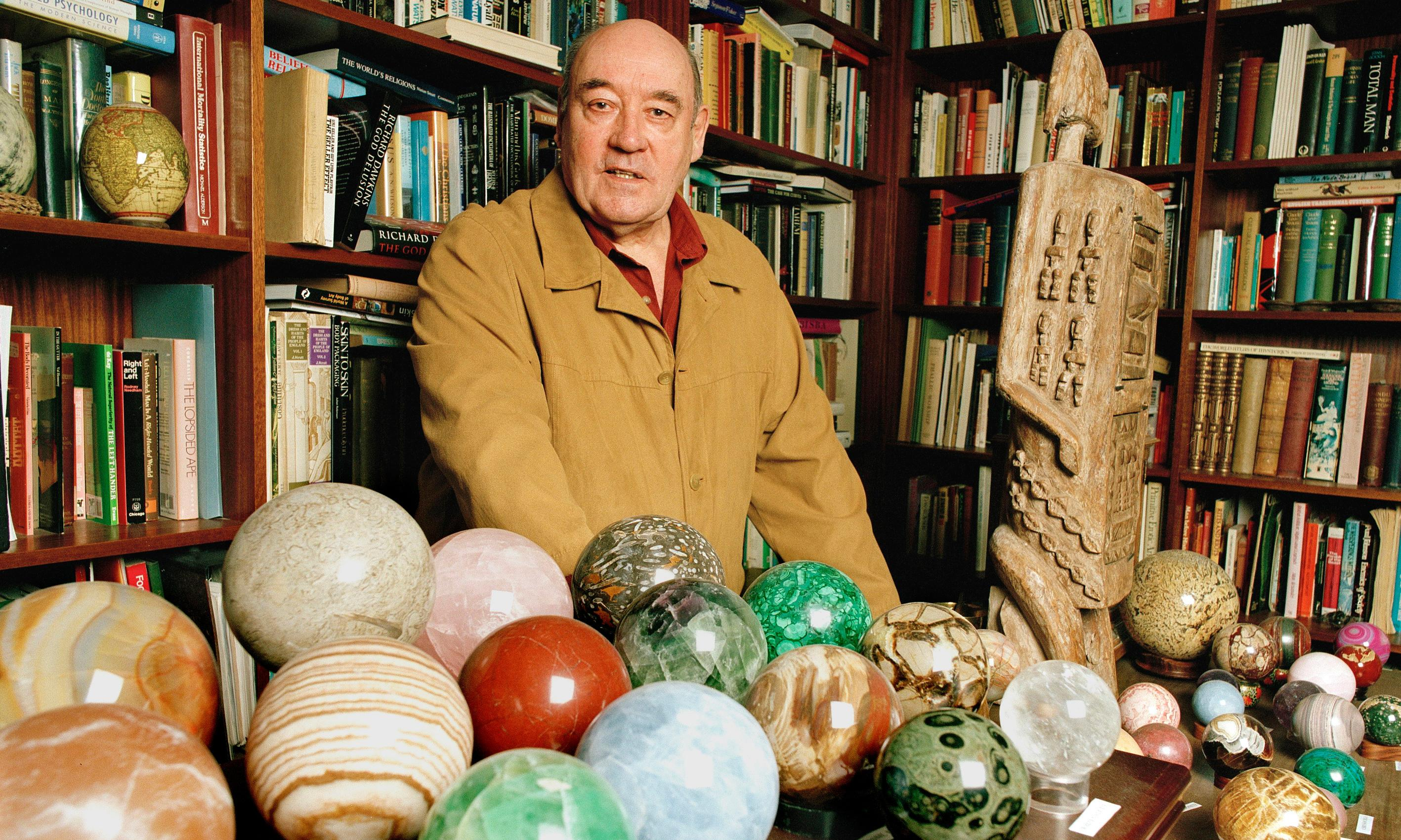 Good grief: Desmond Morris shows how a clearout can help you cope with death