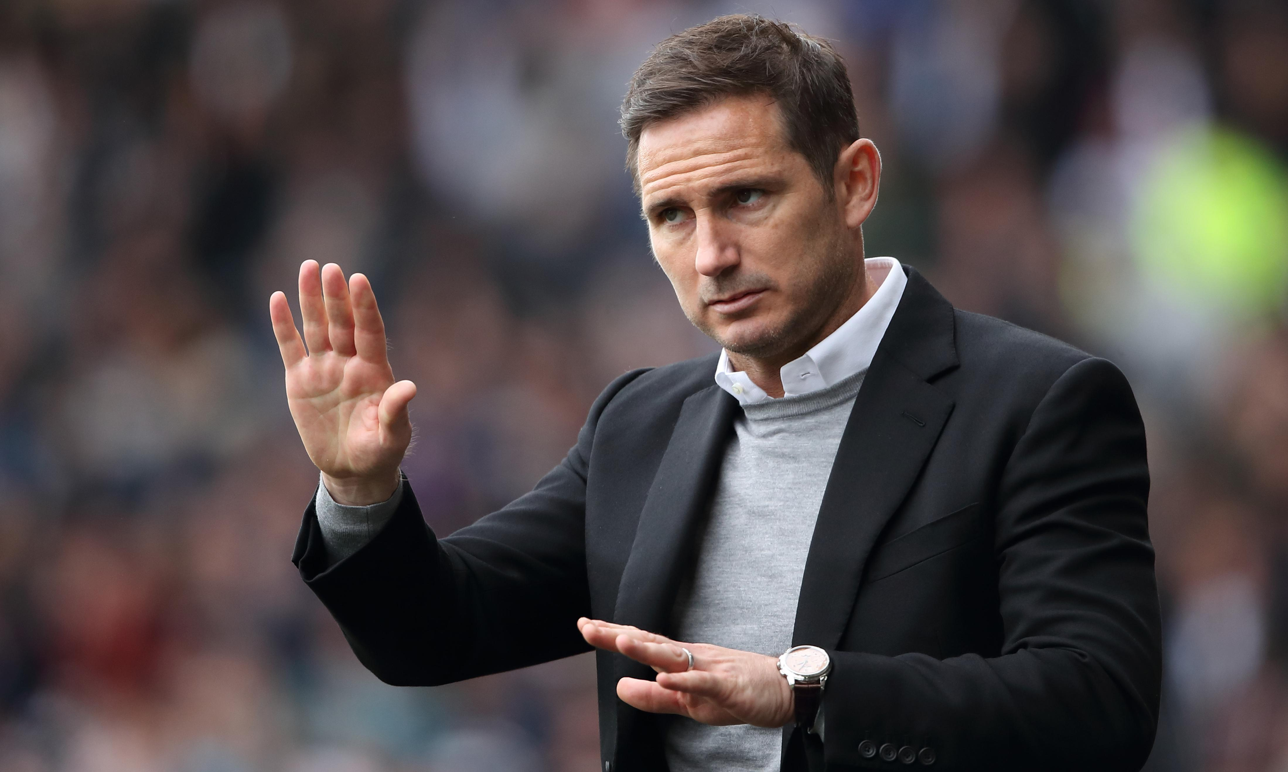 Frank Lampard describes rumours over Chelsea job as an 'easy link'