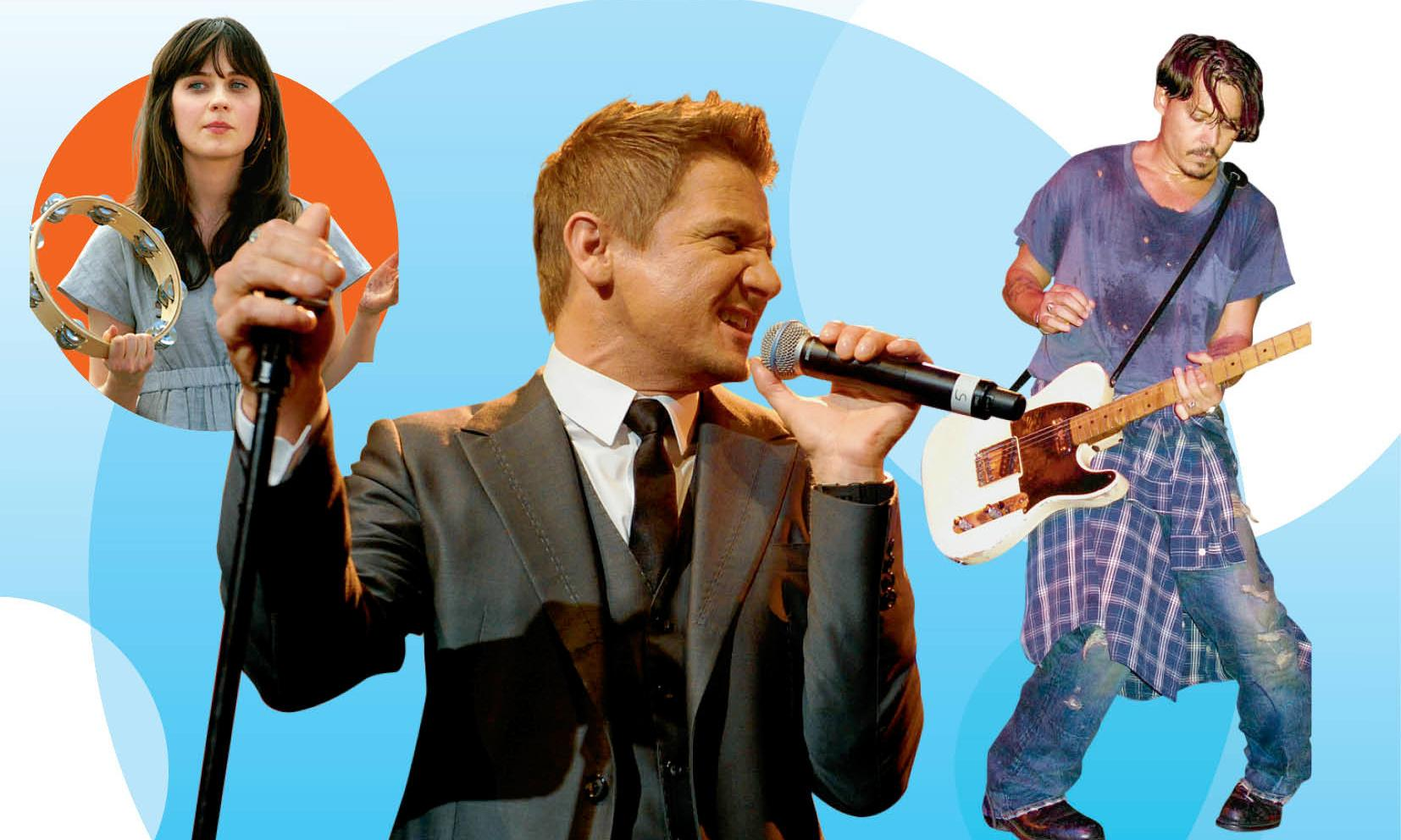 Jeremy Renner, Johnny Depp, Bradley Walsh: which is the best actor-turned-singer?