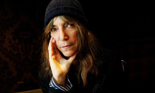 Patti Smith, artist Paris, 01/2011.