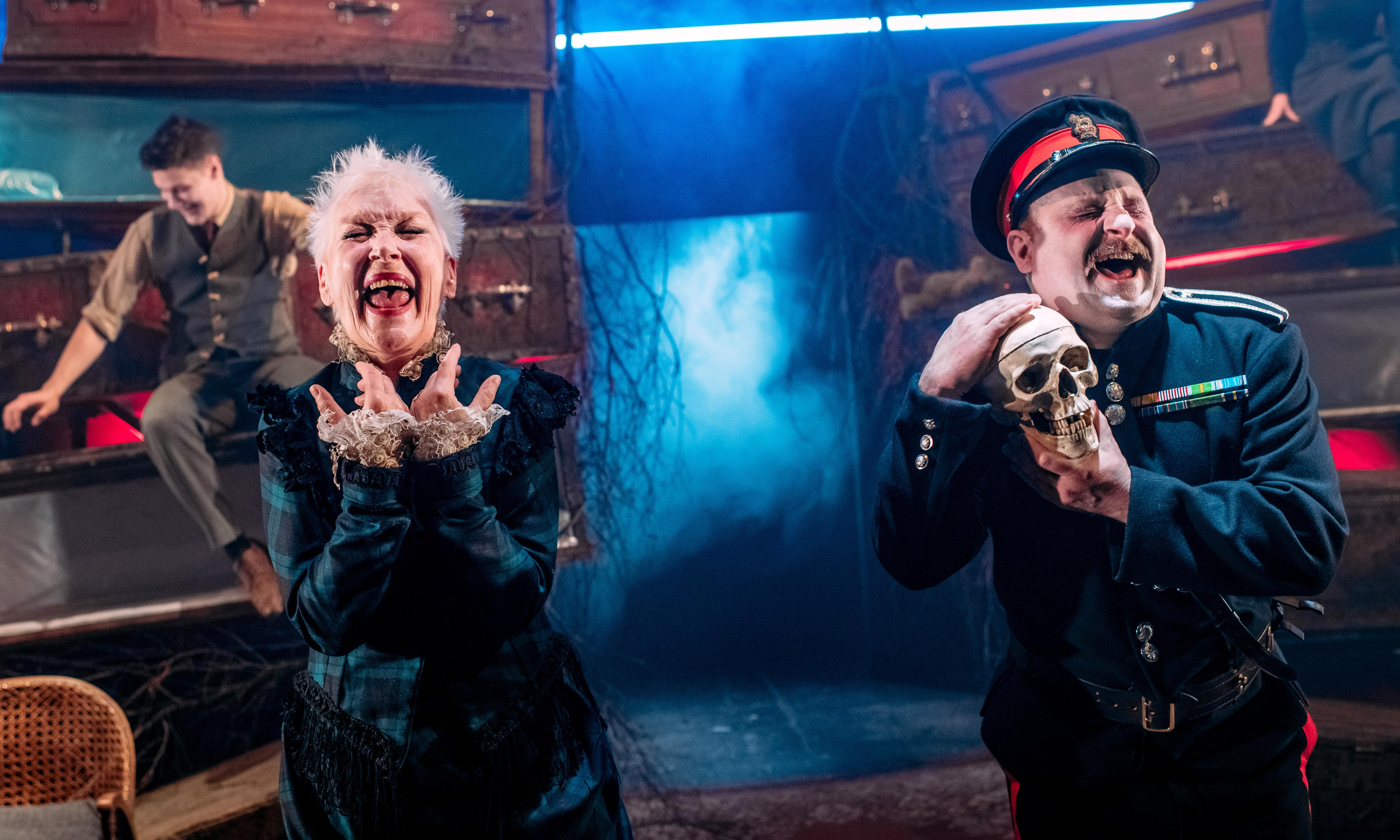 The Dark Carnival review – a gorgeous beyond-the-grave cabaret