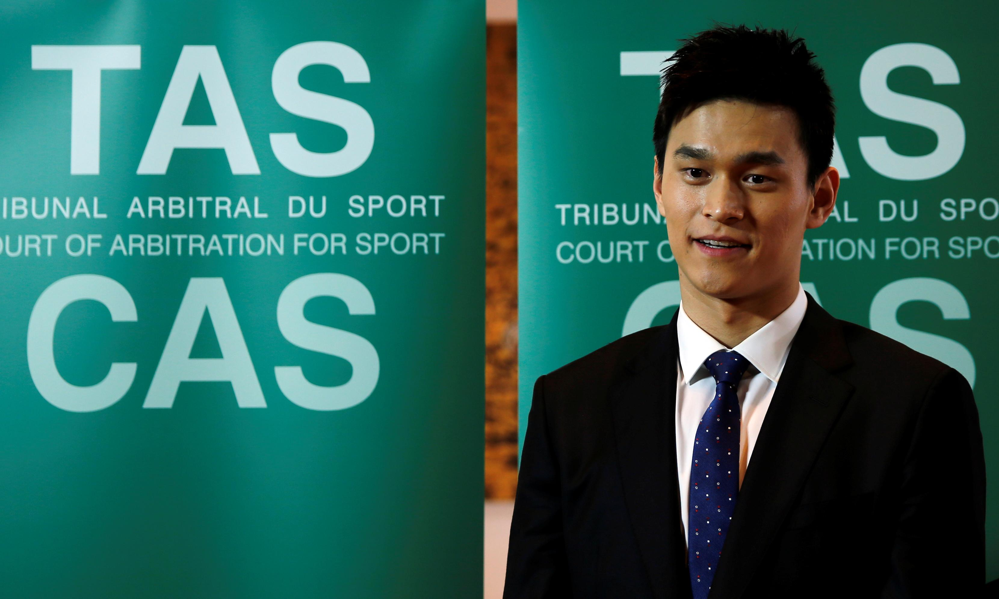 'I'm a builder': Sun Yang drug tester an unqualified ring-in, swimming appeal told