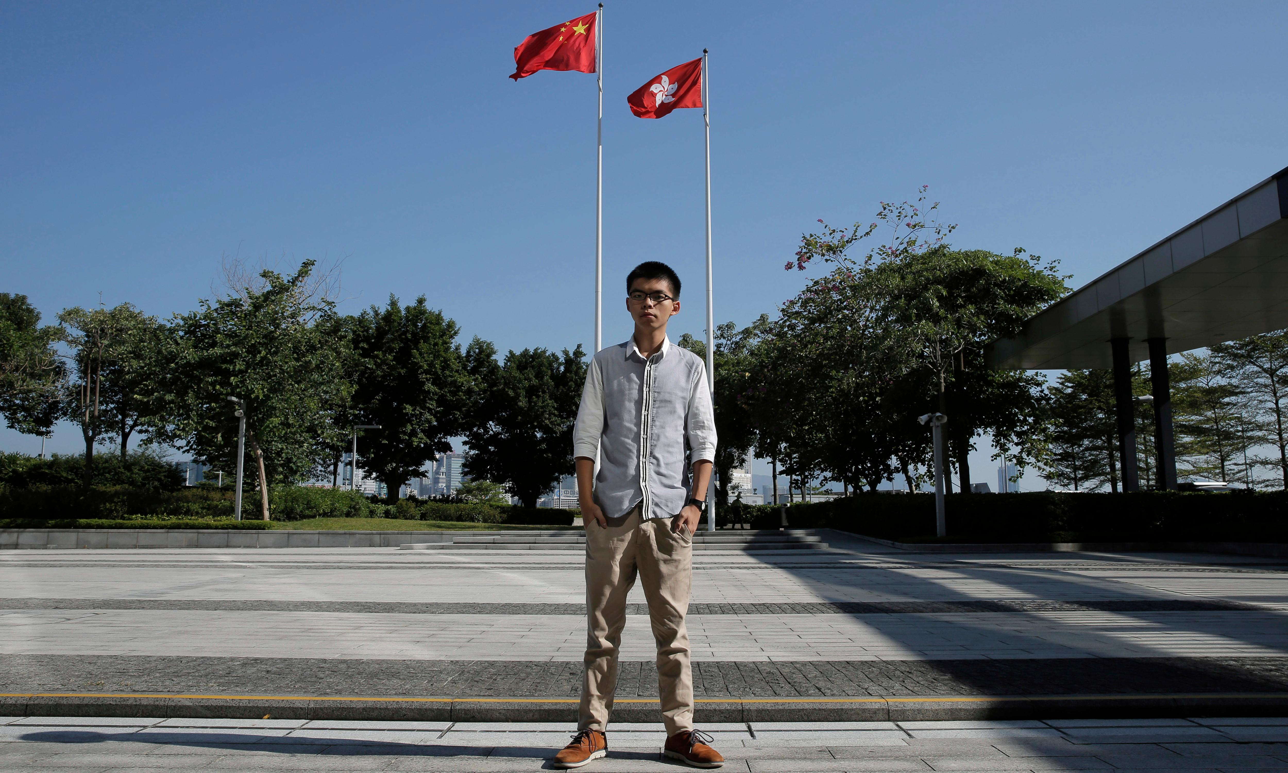 'Hong Kong is at a crossroads': inside prison with the student who took on Beijing