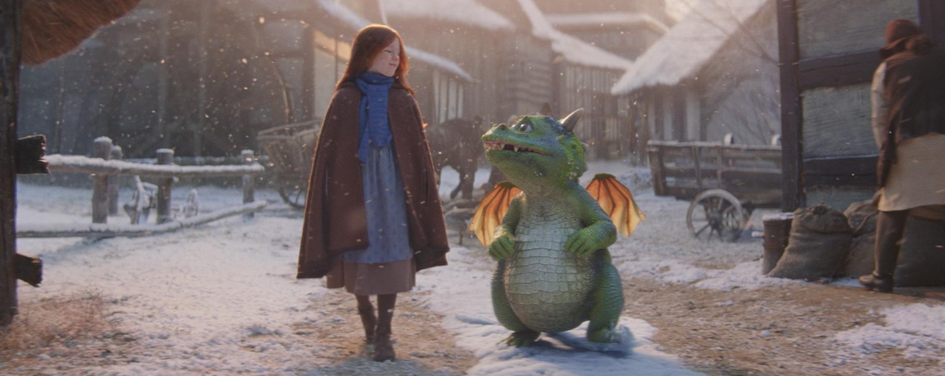 John Lewis Christmas ad features excitable dragon Edgar