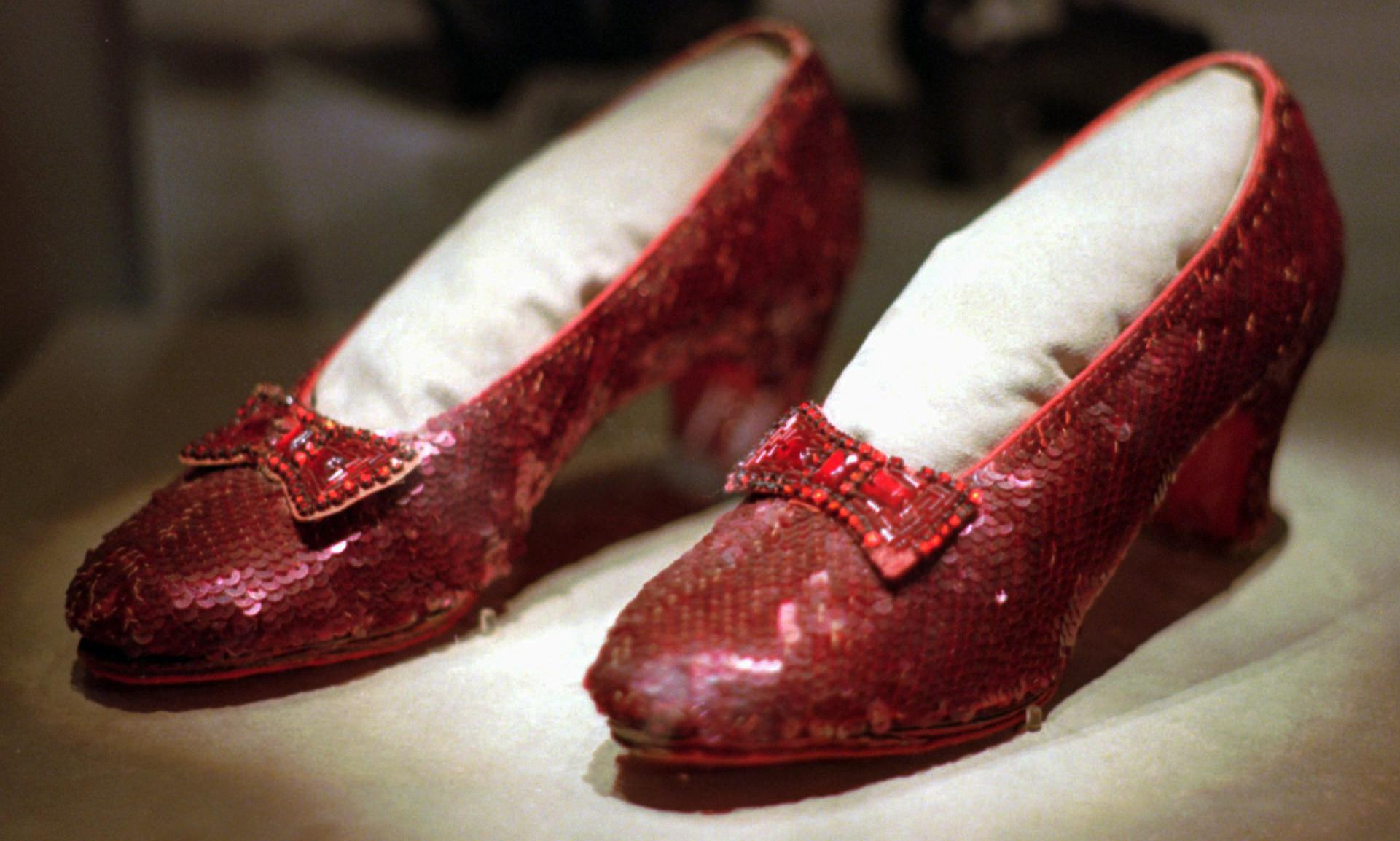 FBI finds stolen ruby slippers from Wizard of Oz after 13 years