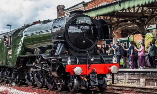 Heritage railways and trains keep Britain's golden age of steam alive
