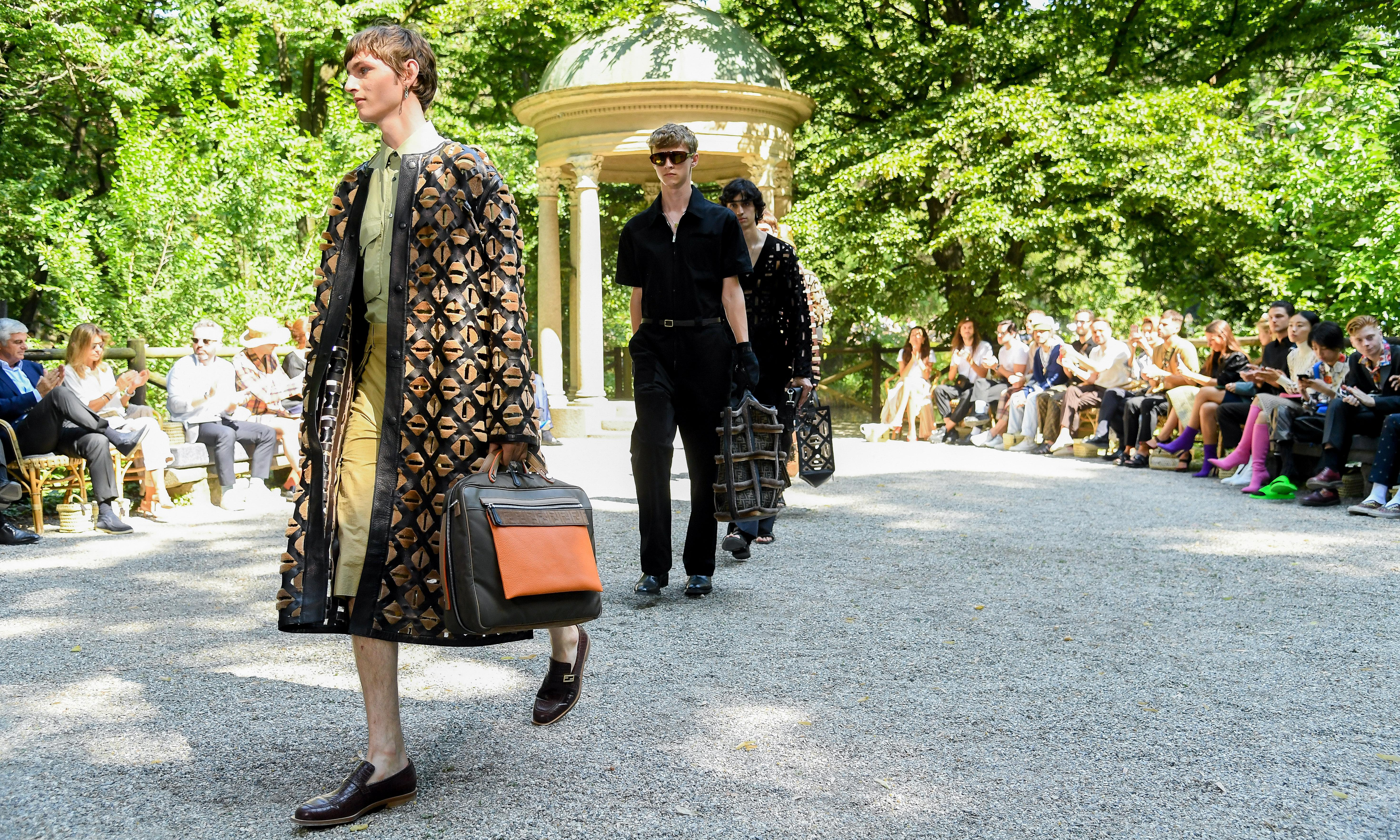 Fendi celebrates Italian summers with help of Luca Guadagnino