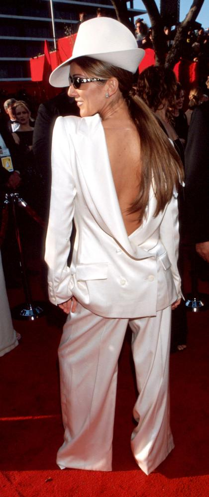 Celine Dion at the 1999 Oscars