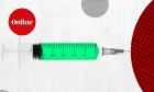 Cronavirus vaccine trail pic composite