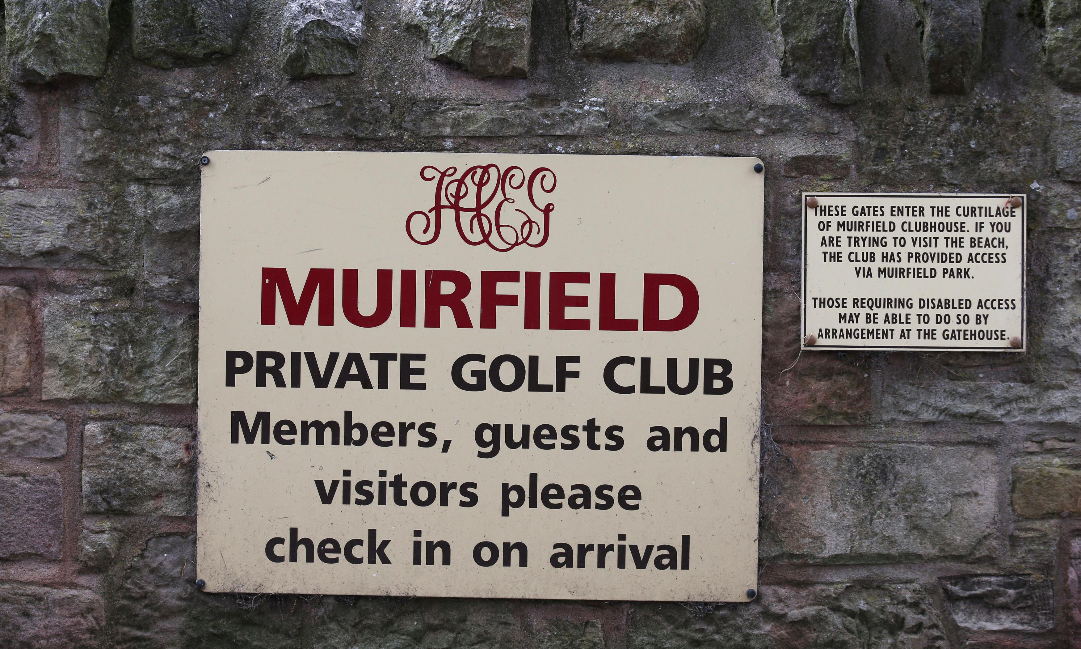 Muirfield golf club invite women to join for first time in 275-year history