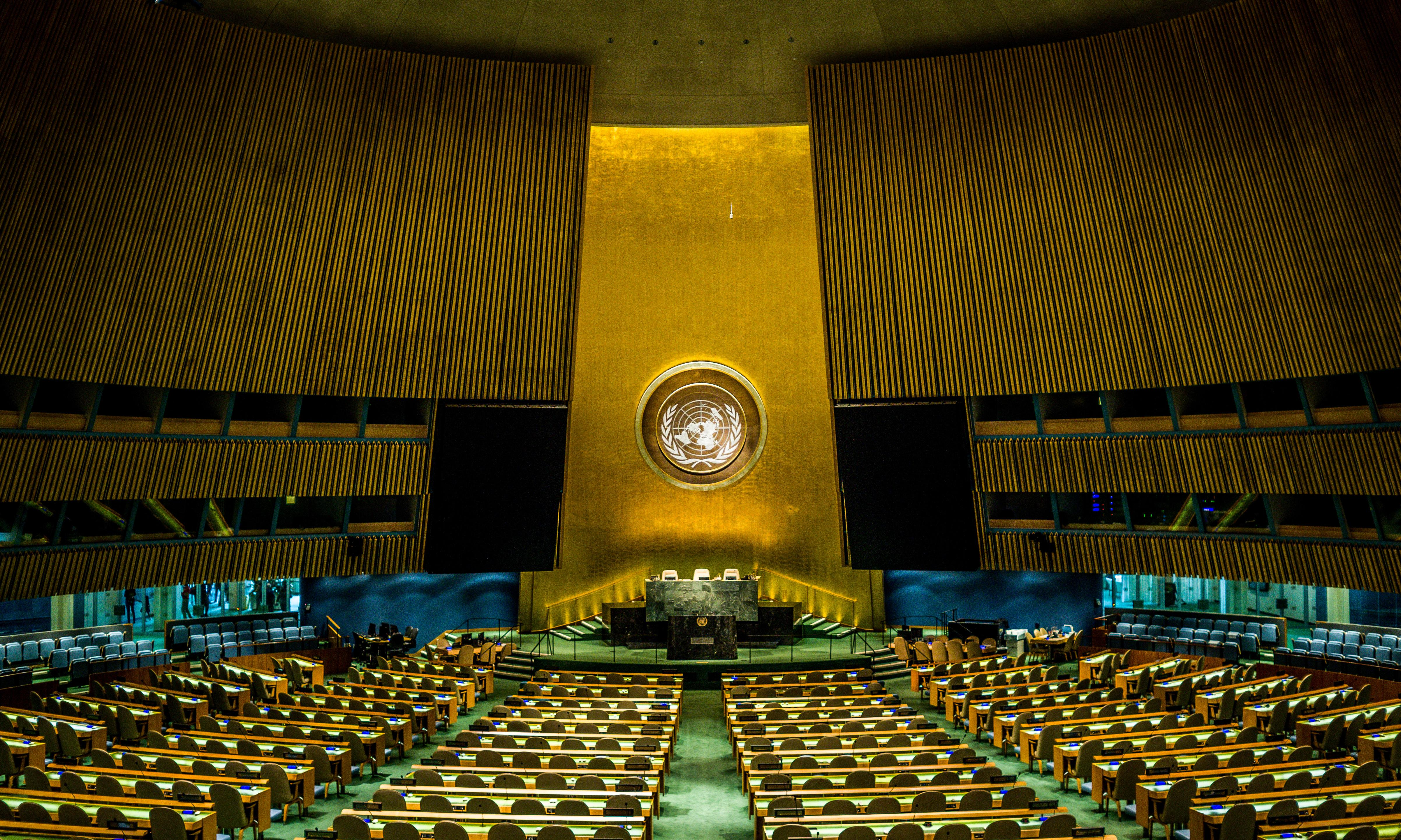 What is the point of the UN general assembly?