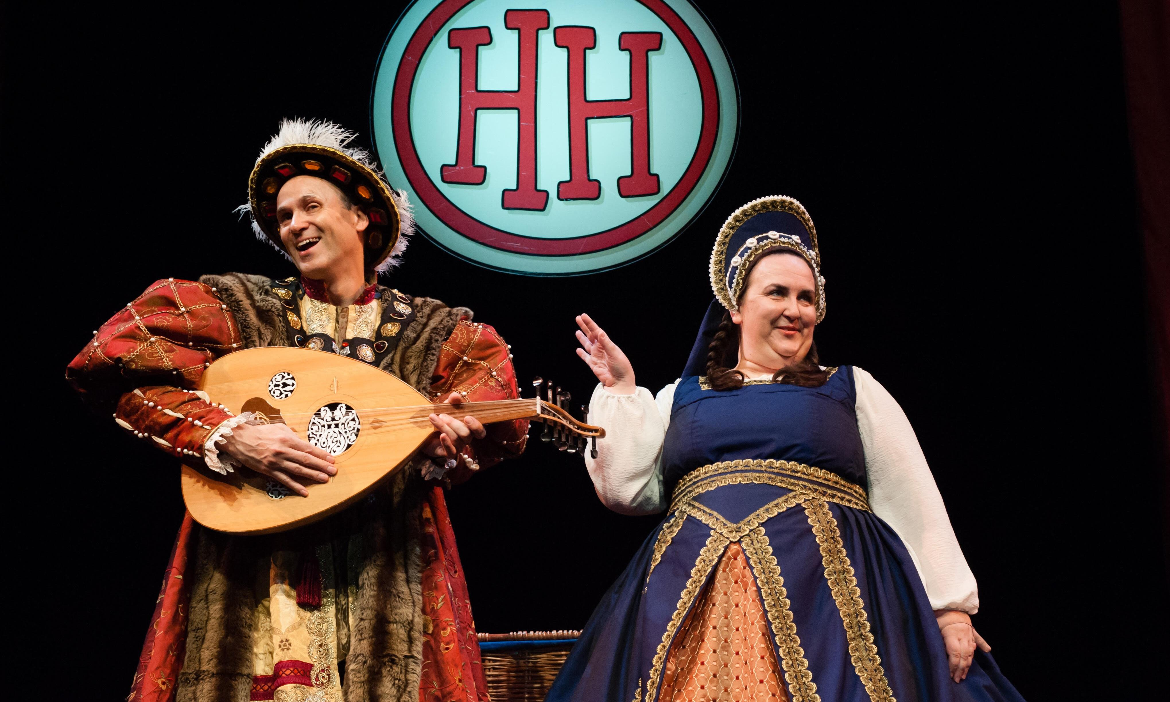 Horrible Histories: Terrible Tudors review – grisly gags at the Tower of London