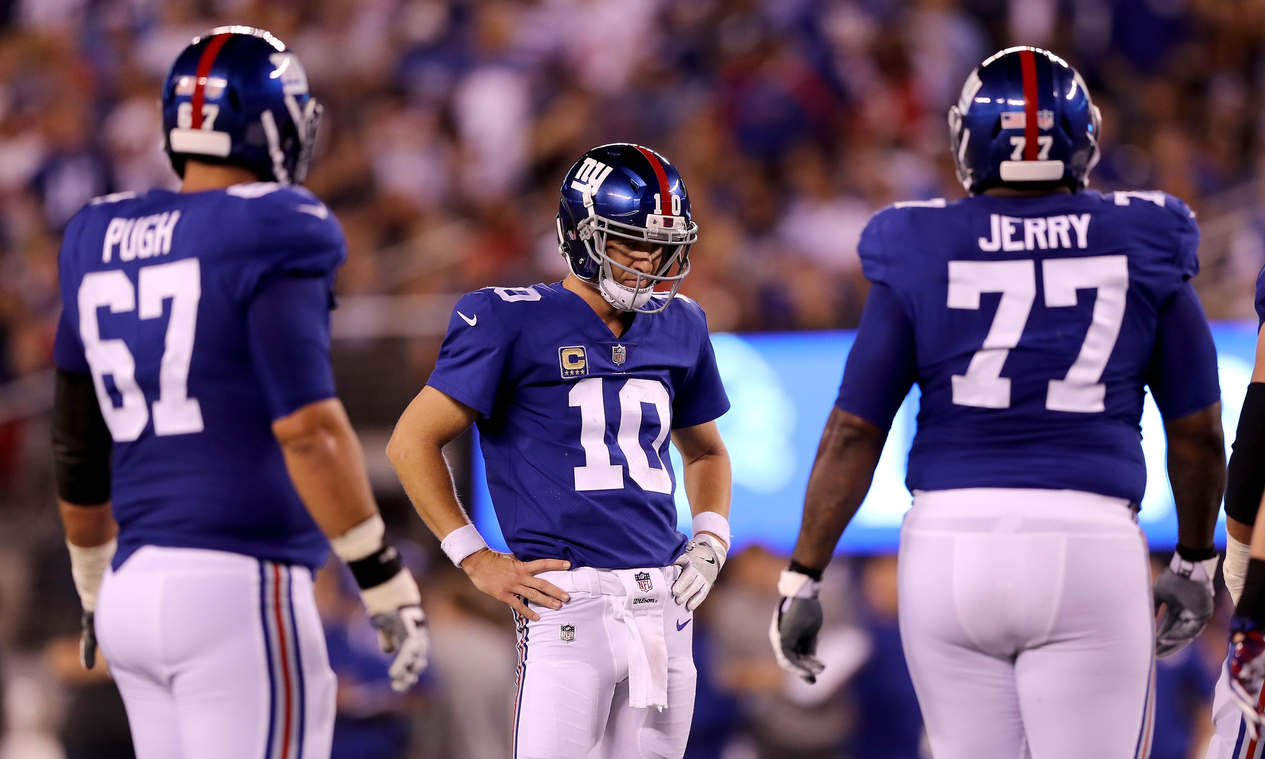 New York Giants bench Eli Manning, name rookie Daniel Jones starting QB