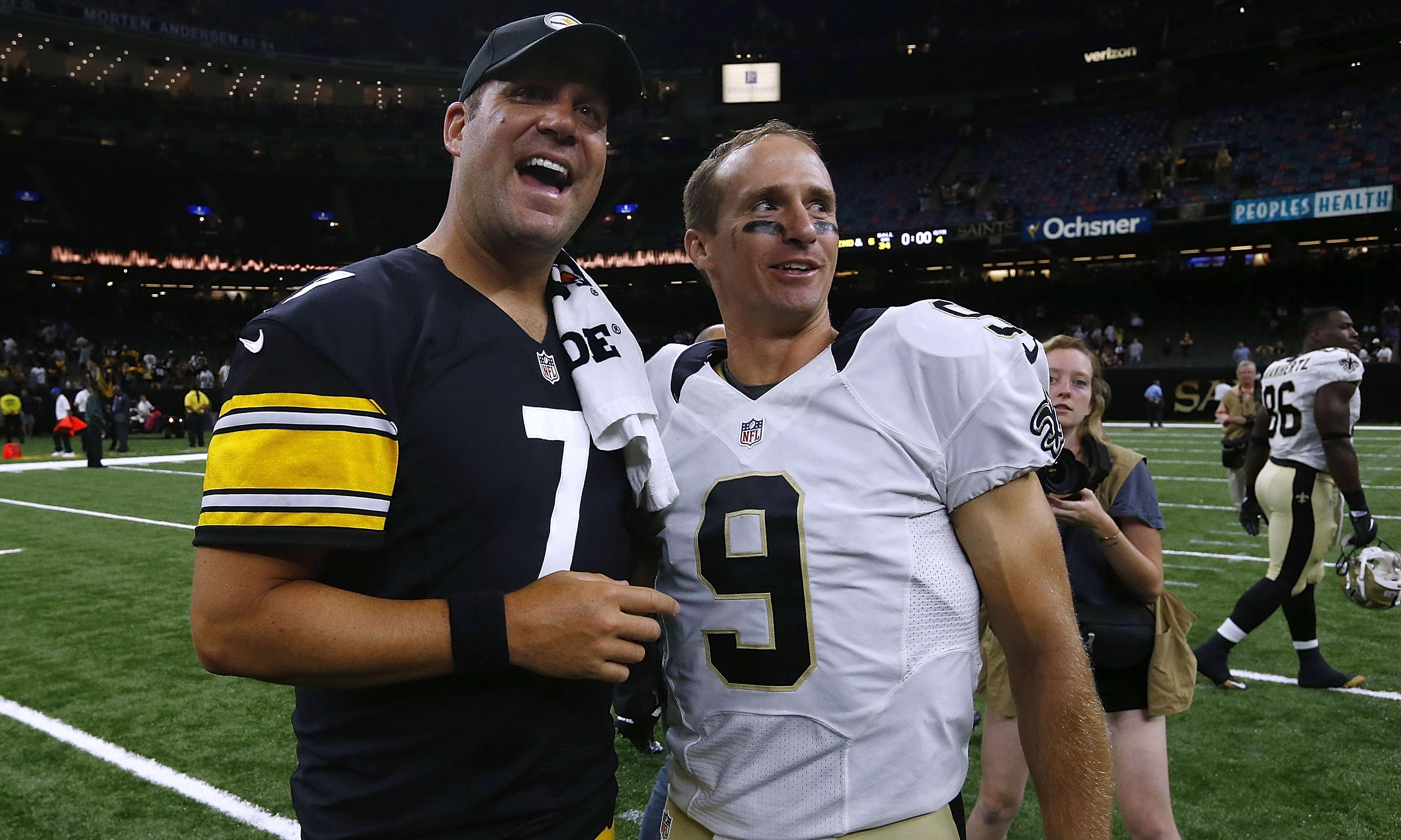 Ben Roethlisberger's NFL season over with Drew Brees set to miss six weeks
