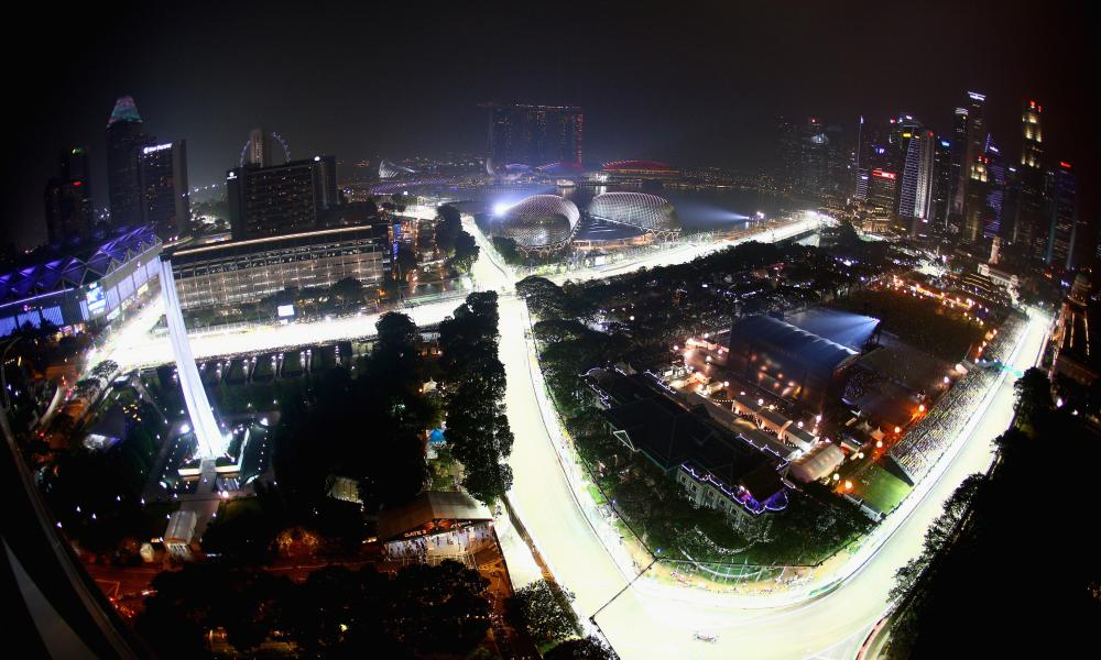 Formula One returns to Marina Bay, Singapore in September.