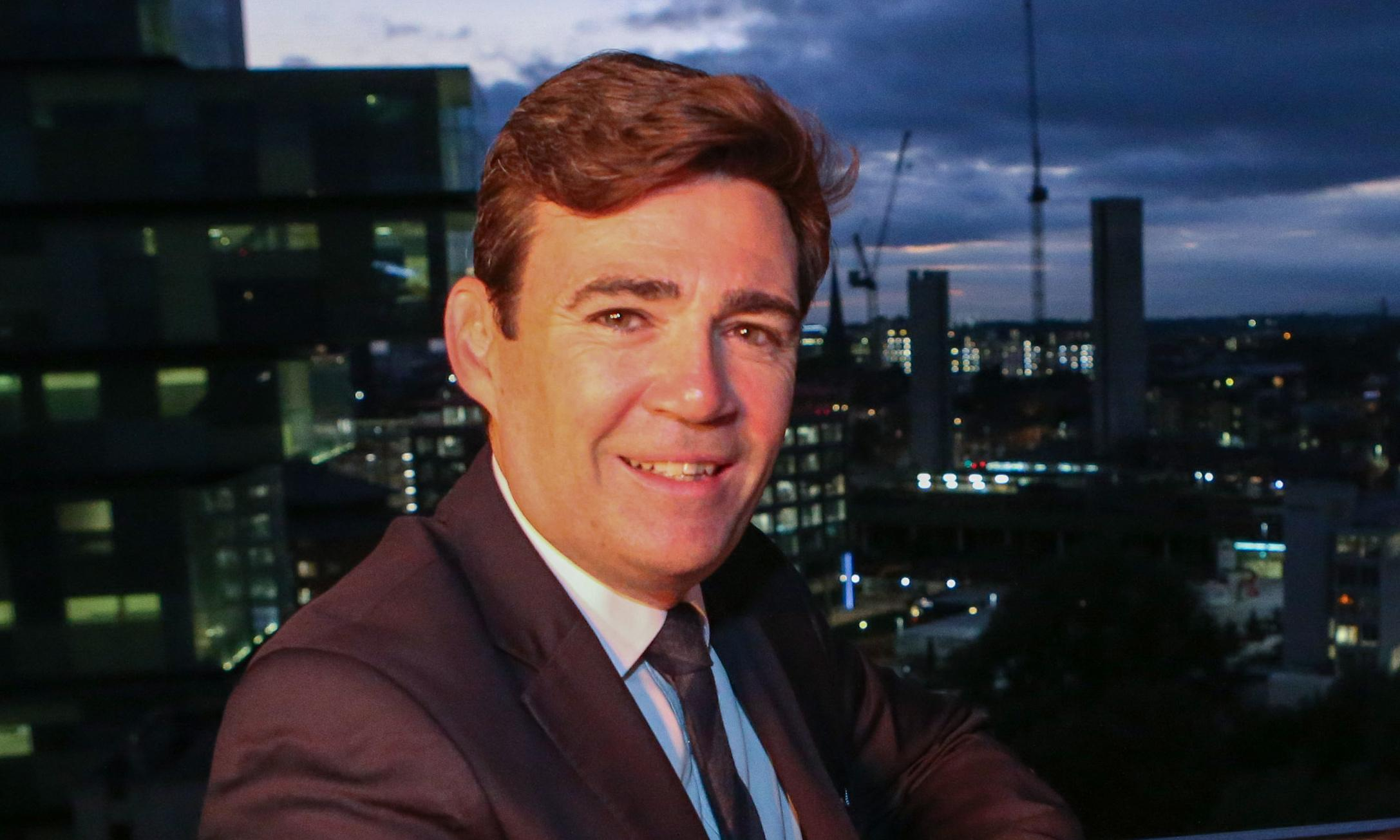 Andy Burnham reveals 2038 carbon target for Greater Manchester