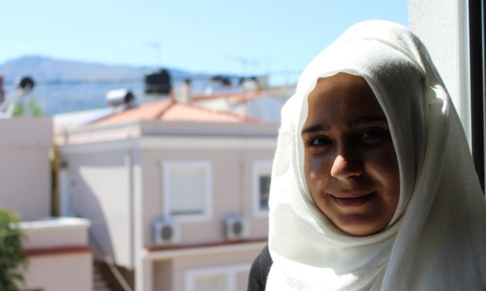 Amira, 15, from Qamishli