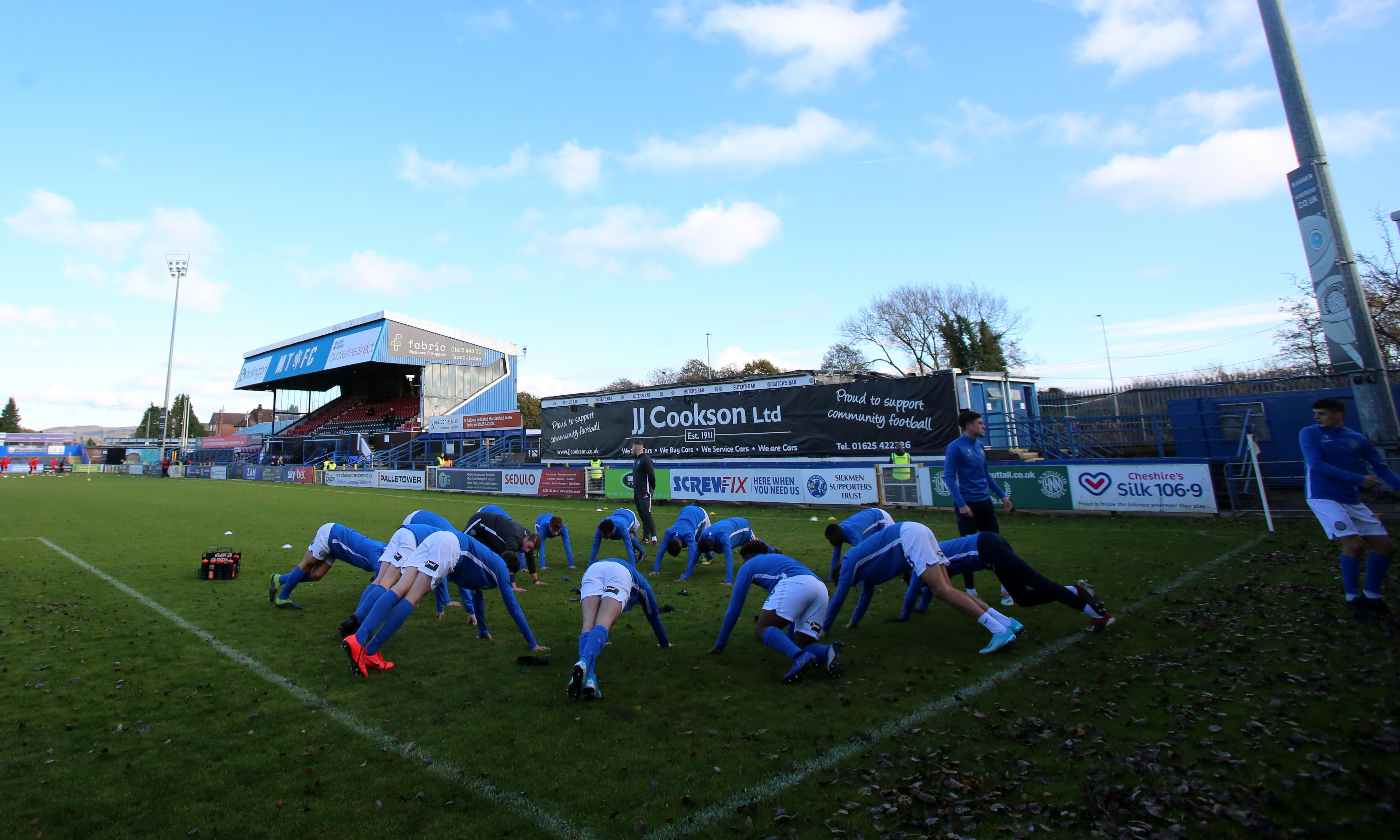 Macclesfield preparing to boycott League Two match with Crewe