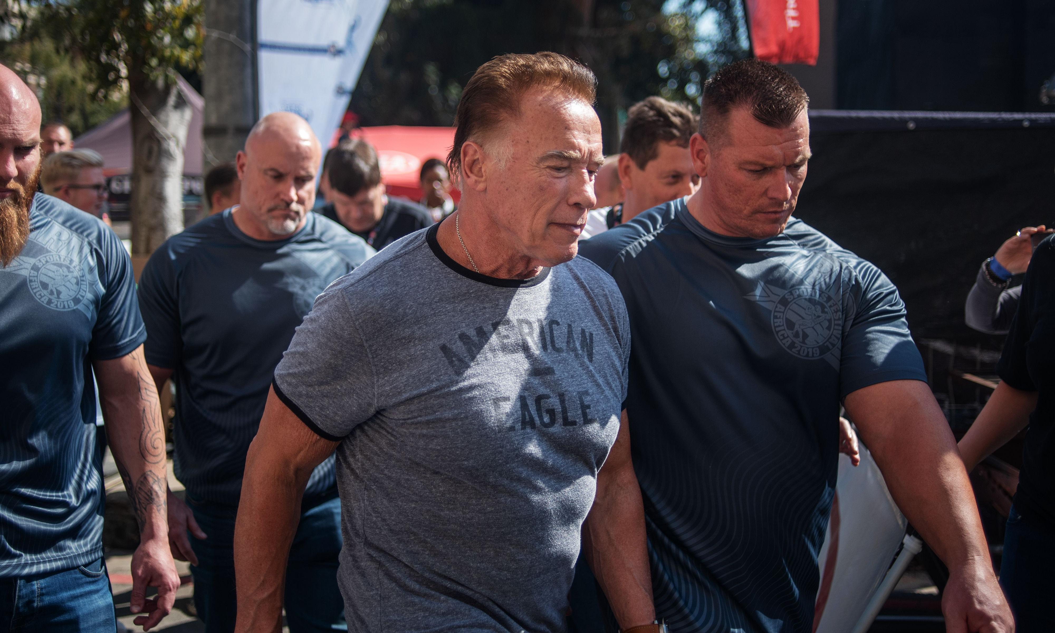Arnold Schwarzenegger 'not pressing charges' after drop-kick attack