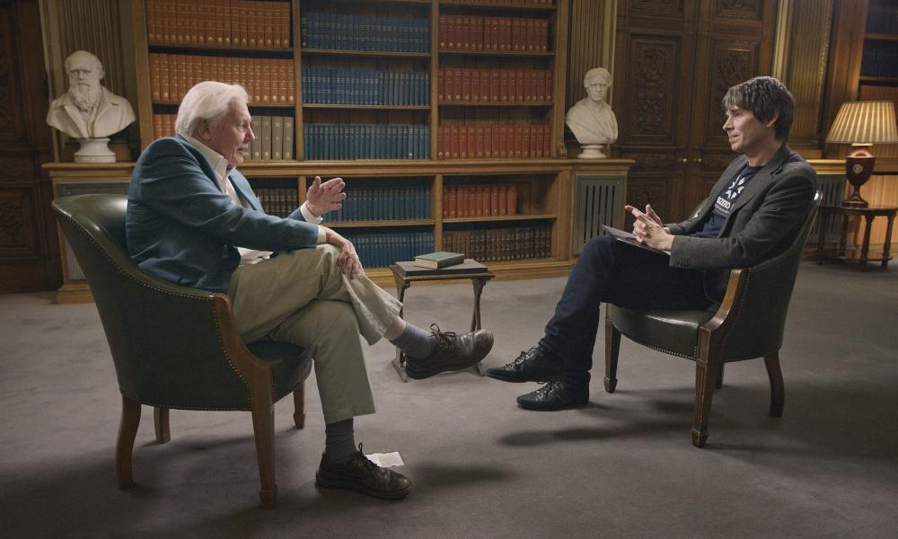 Sir David Attenborough and Prof Brian Cox unite on screen for the first time in a new show, People Of Science