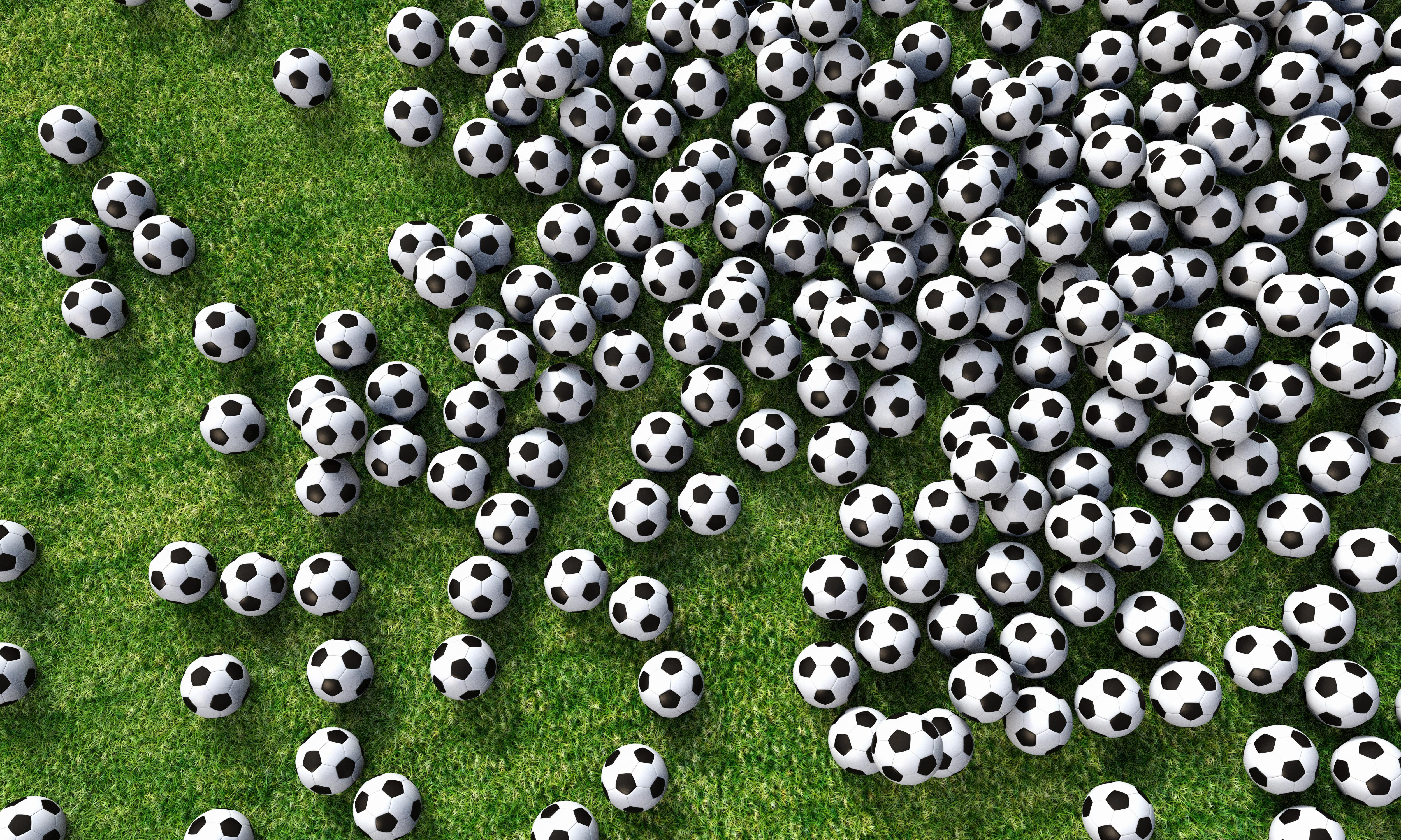 Which football team have completed the most passes in a match?