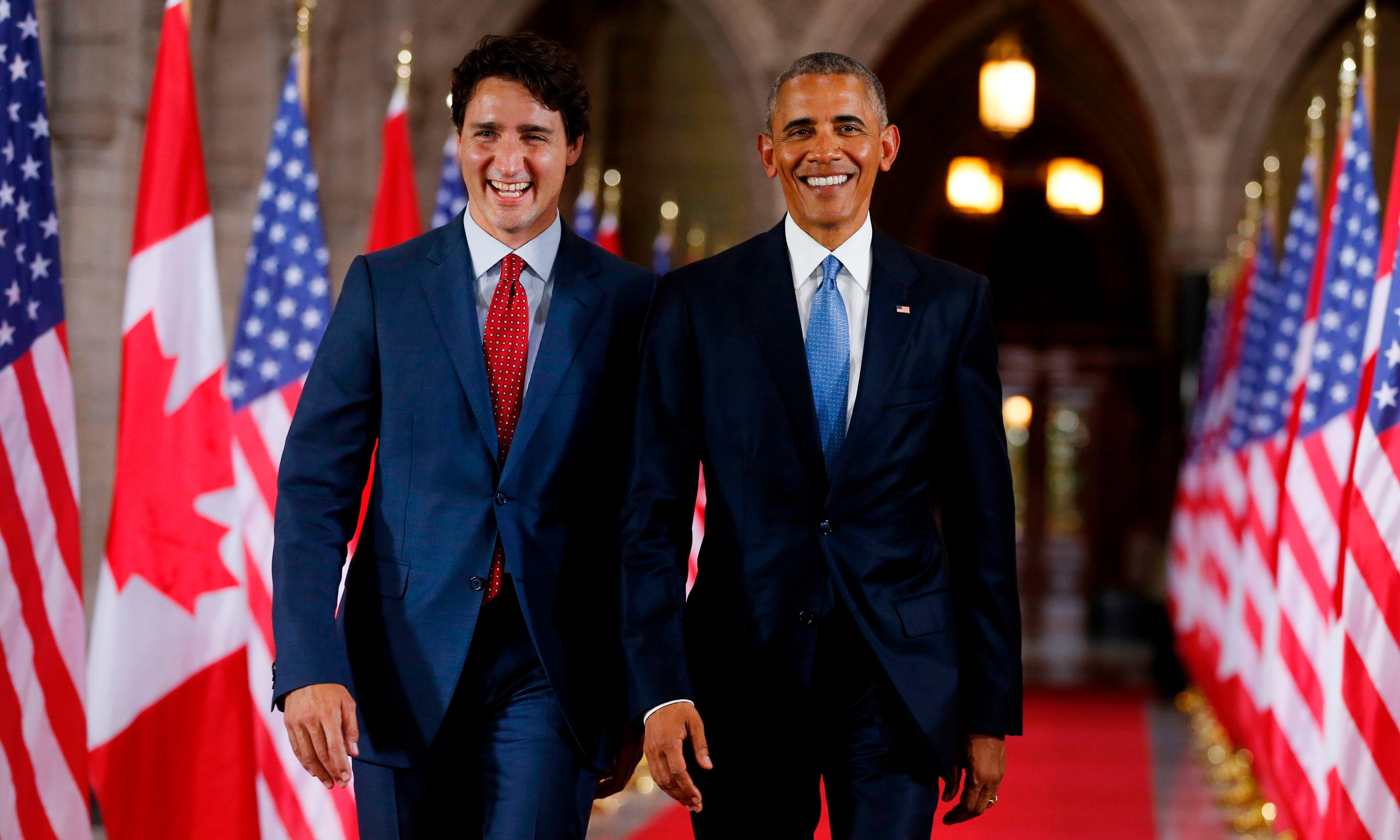 Obama endorses Trudeau: 'The world needs his progressive leadership'