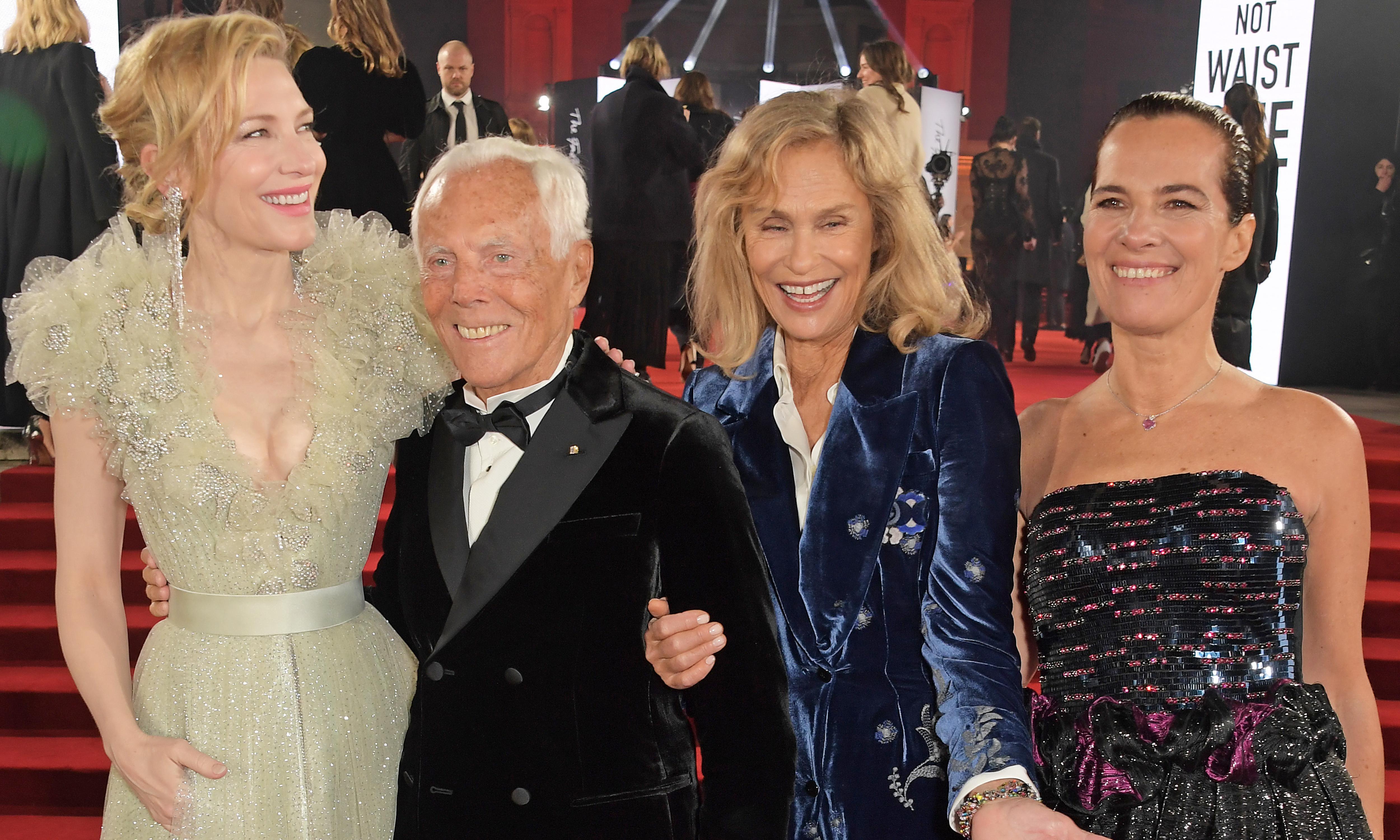 Giorgio Armani on billionaire bashing, throwaway culture – and choosing his successor